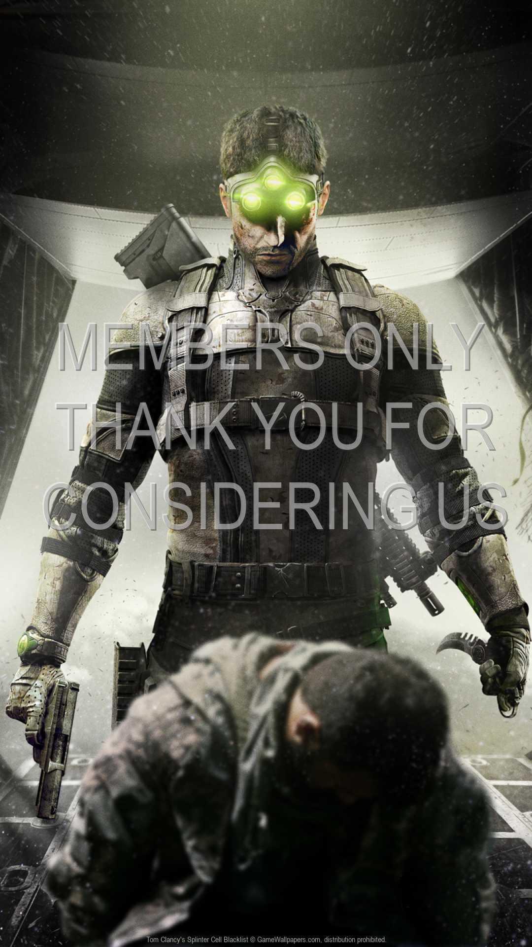 Tom Clancy's Splinter Cell: Blacklist 1080p Vertical Handy Hintergrundbild 02