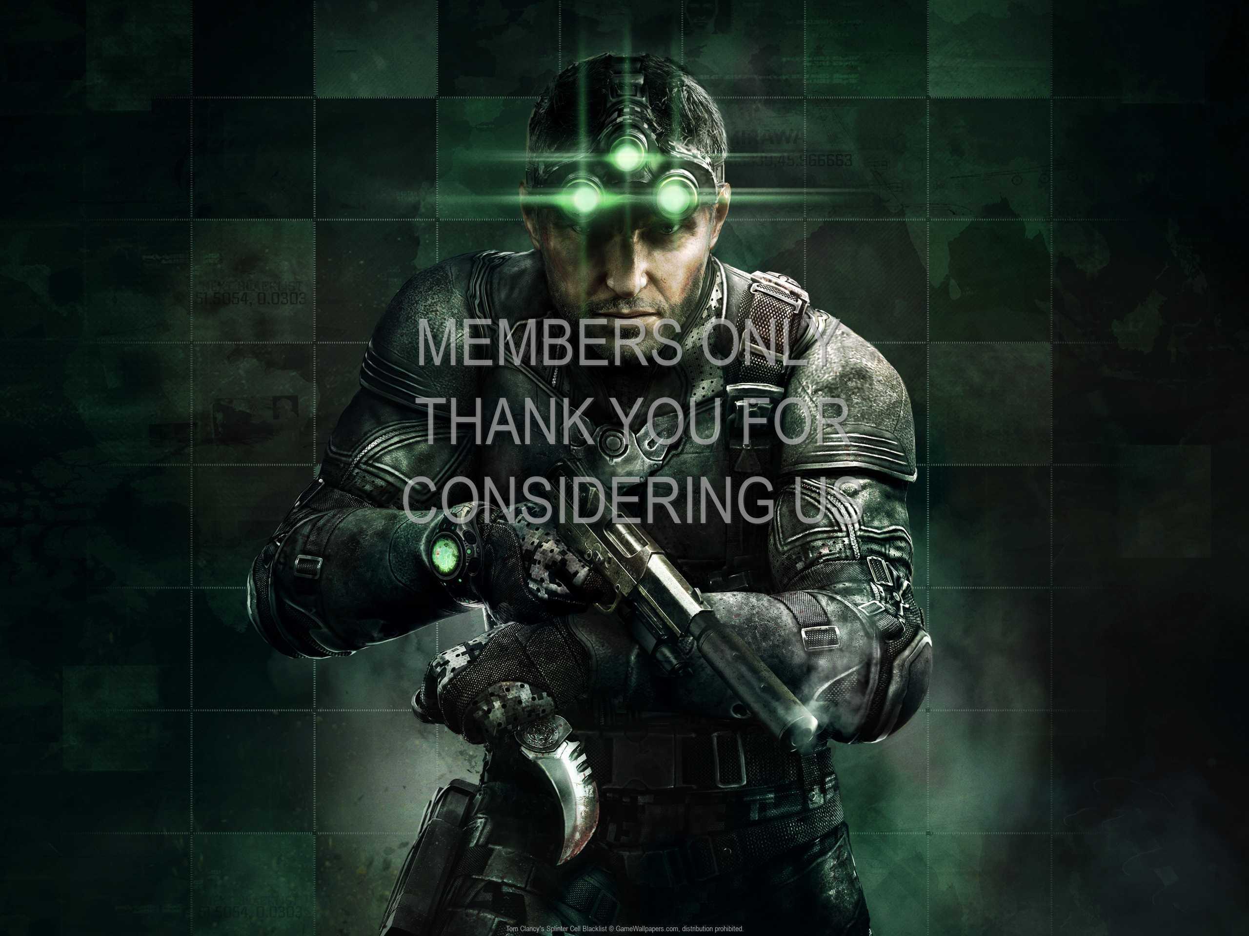 Tom Clancy's Splinter Cell: Blacklist 1080p Horizontal Handy Hintergrundbild 04