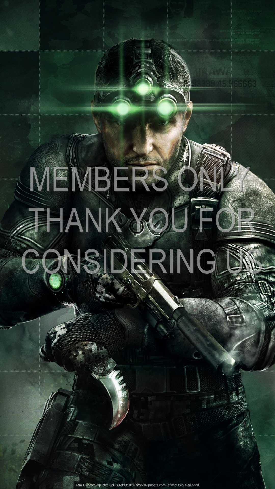 Tom Clancy's Splinter Cell: Blacklist 1080p Vertical Handy Hintergrundbild 04