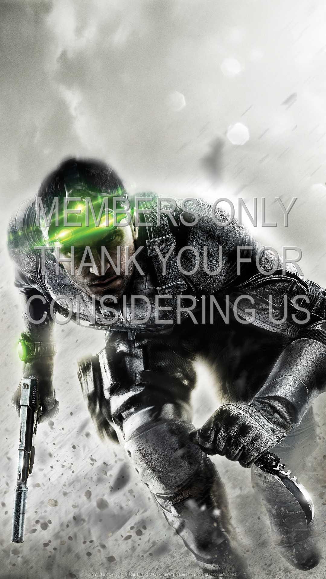 Tom Clancy's Splinter Cell: Blacklist 1080p Vertical Handy Hintergrundbild 05