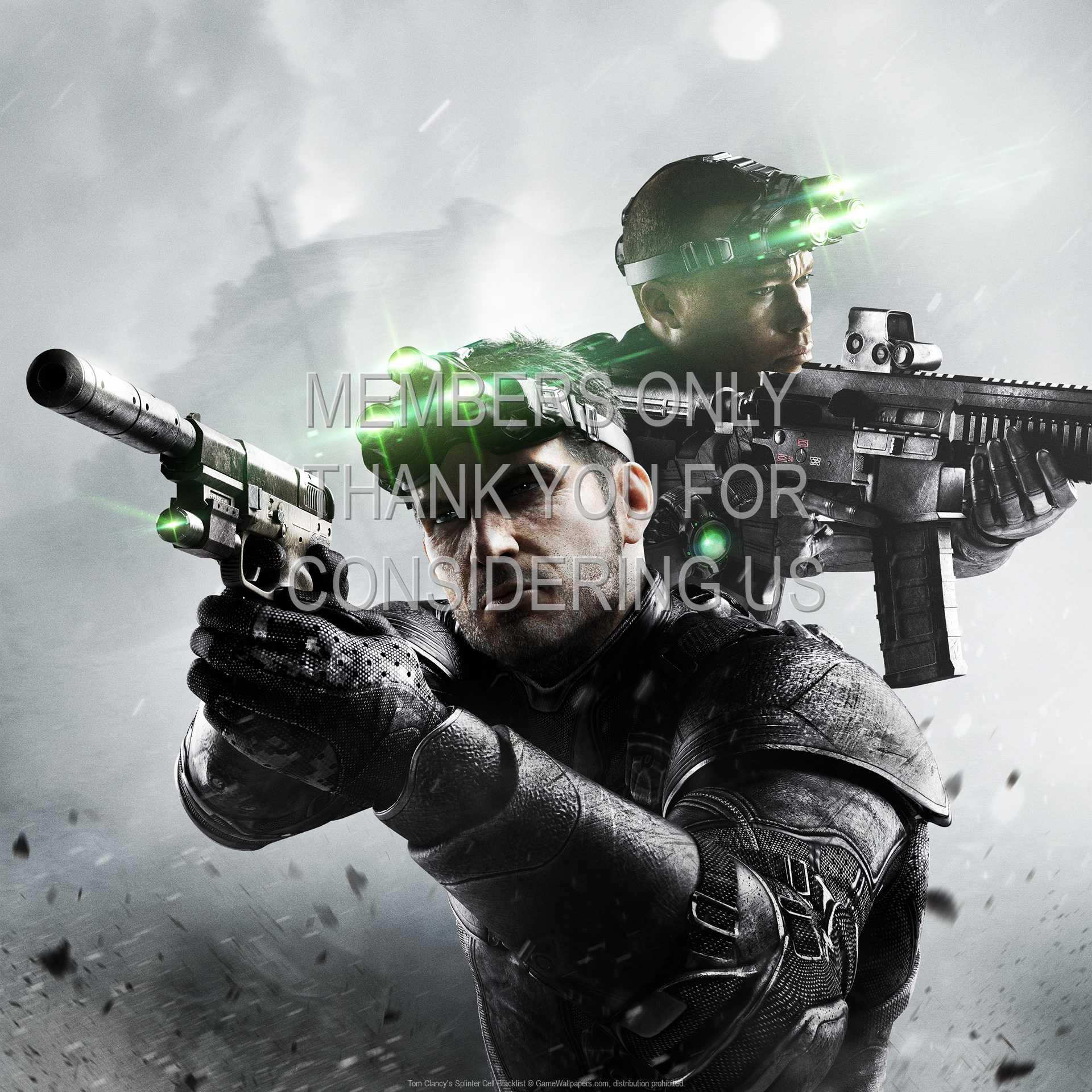 Tom Clancy's Splinter Cell: Blacklist 1080p Horizontal Handy Hintergrundbild 06