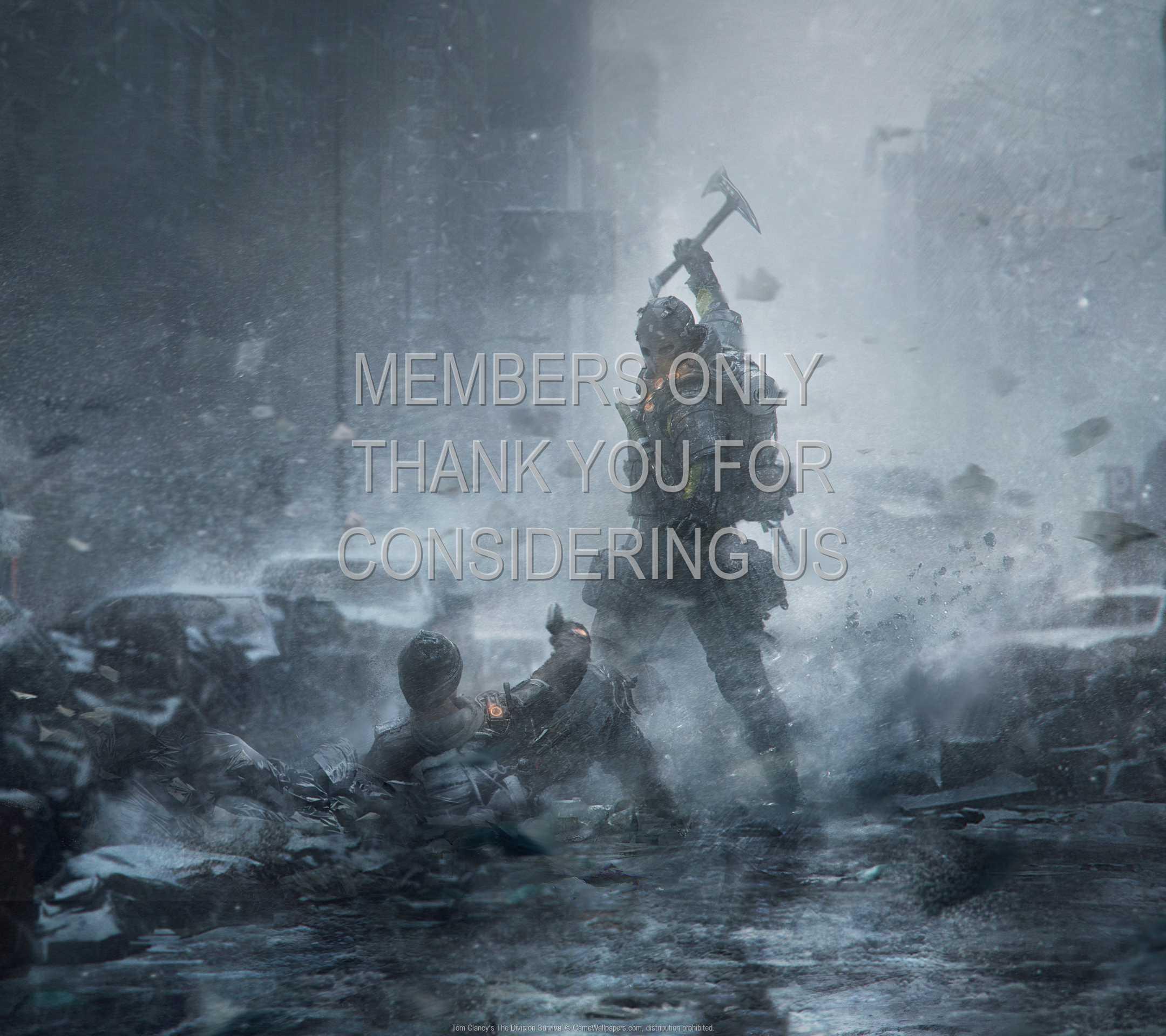 Tom Clancy's The Division: Survival 1080p Horizontal Mobiele achtergrond 02