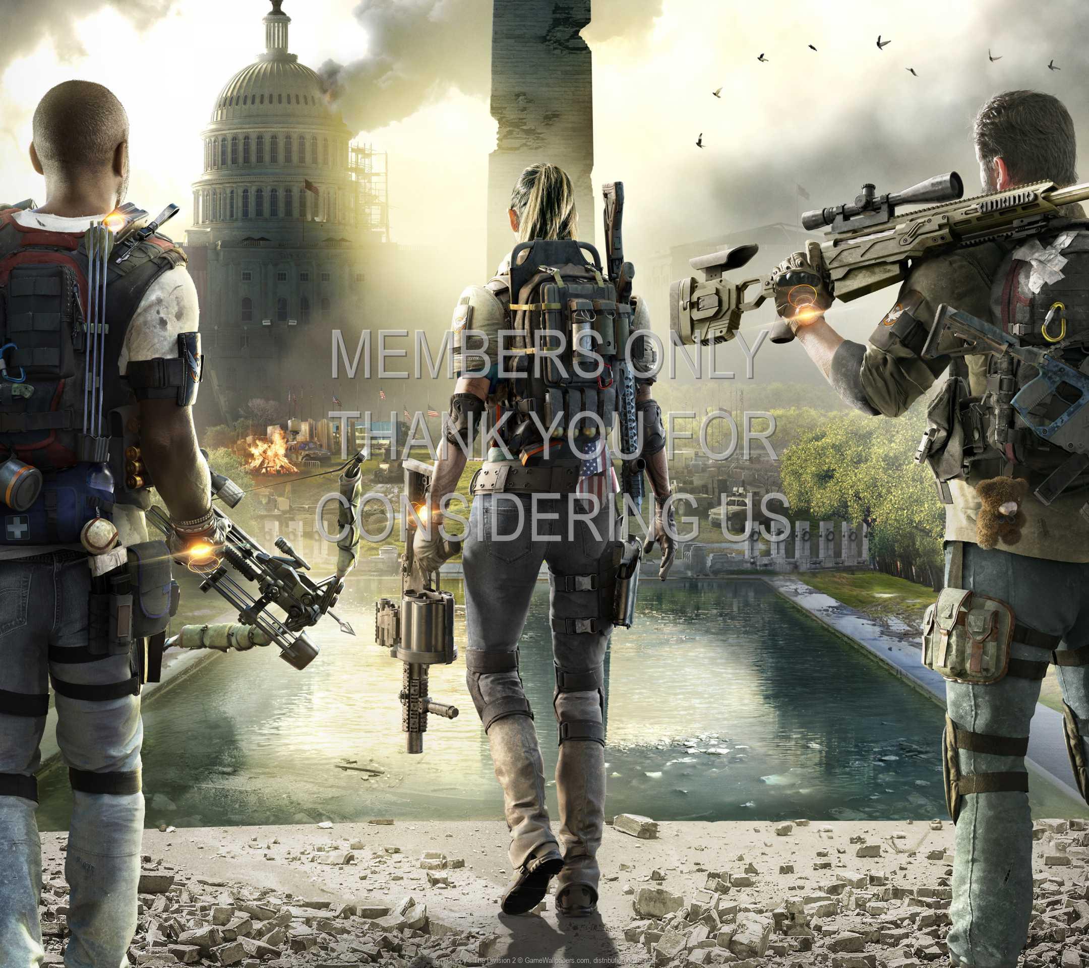 Tom Clancy's The Division 2 1080p Horizontal Mobile fond d'écran 01
