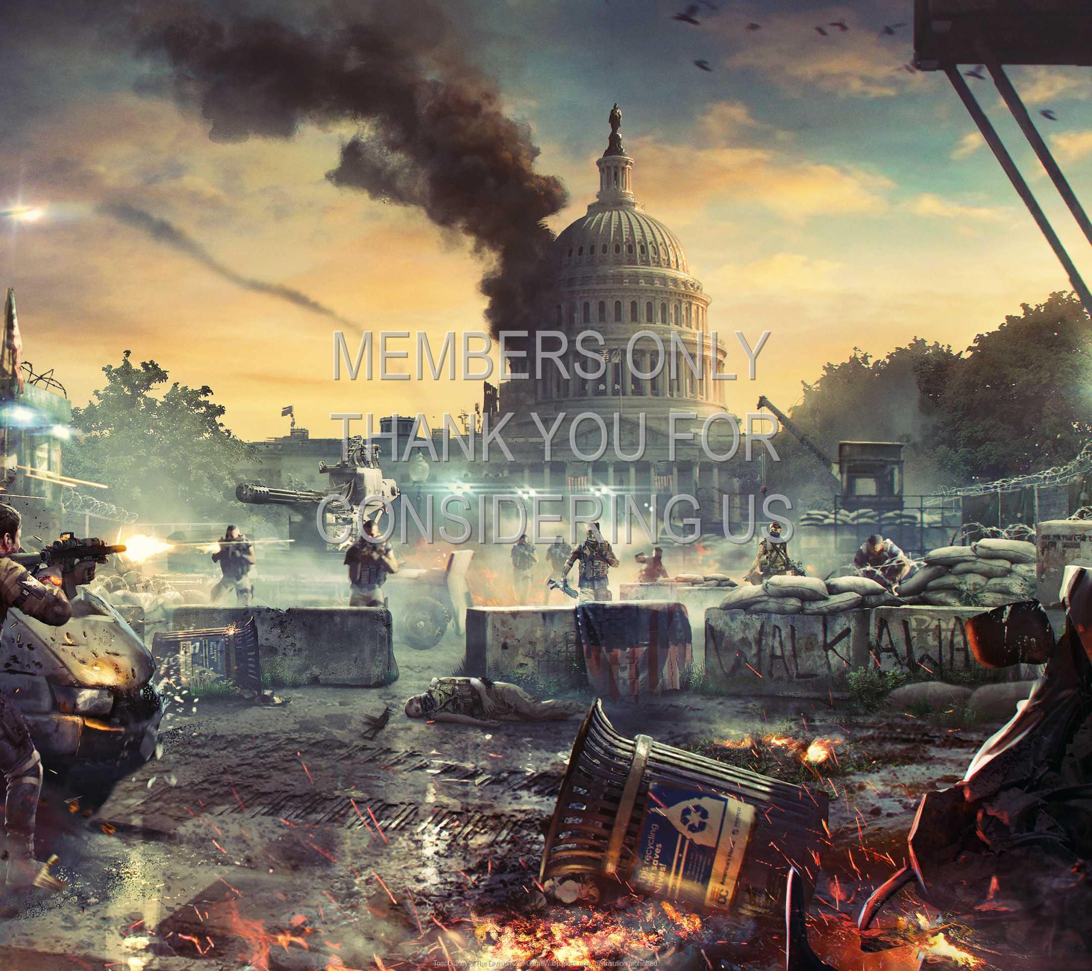 Tom Clancy's The Division 2 1080p Horizontal Mobile fond d'écran 02