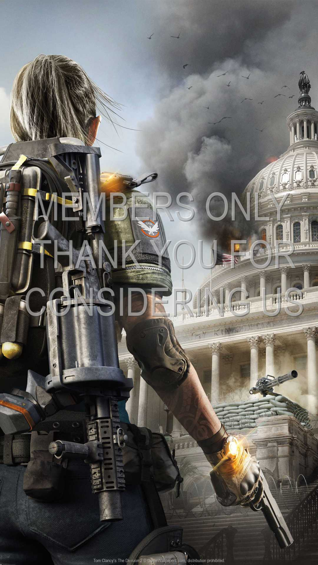 Tom Clancy's The Division 2 1080p Vertical Mobile wallpaper or background 04