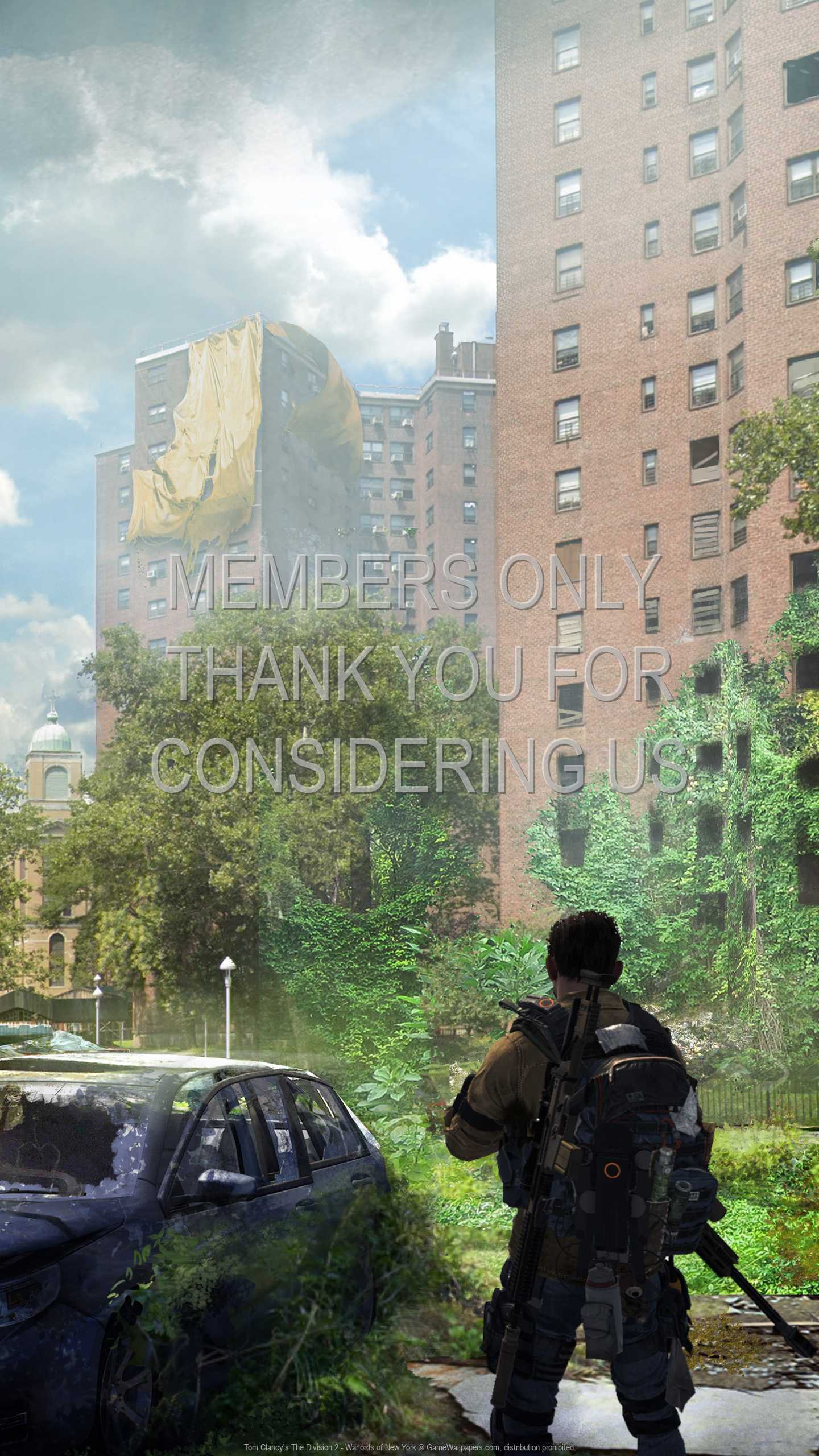 Tom Clancy's The Division 2 - Warlords of New York 1440p Vertical Mobile wallpaper or background 03