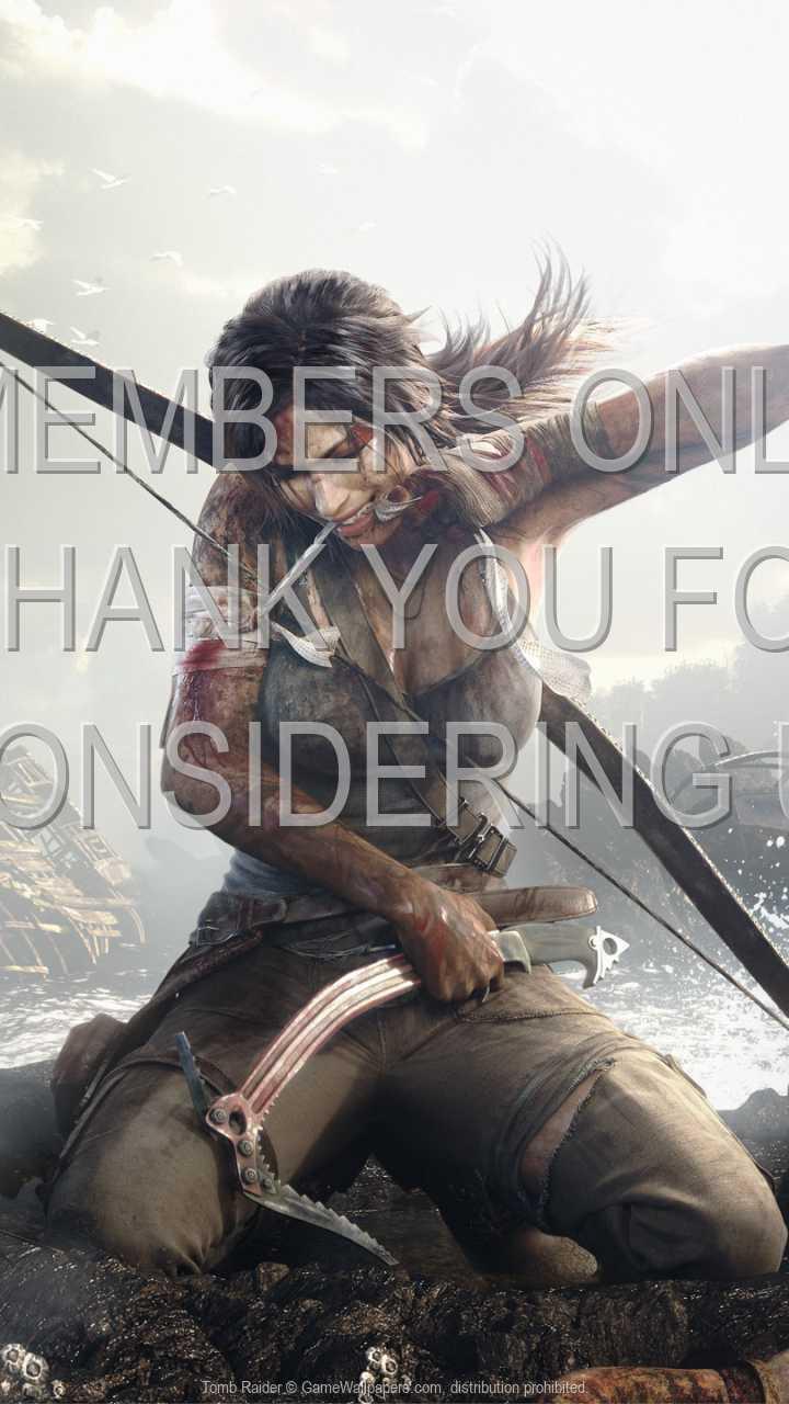 Tomb Raider 720p Vertical Handy Hintergrundbild 01