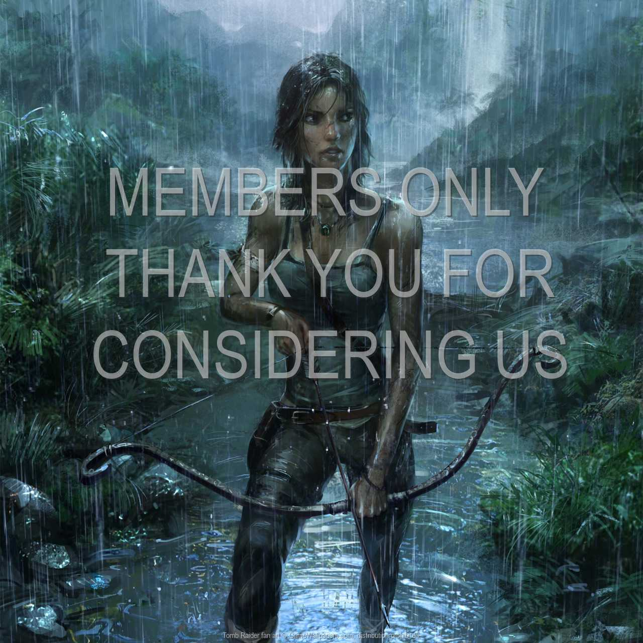 Tomb Raider fan art 720p Horizontal Handy Hintergrundbild 01