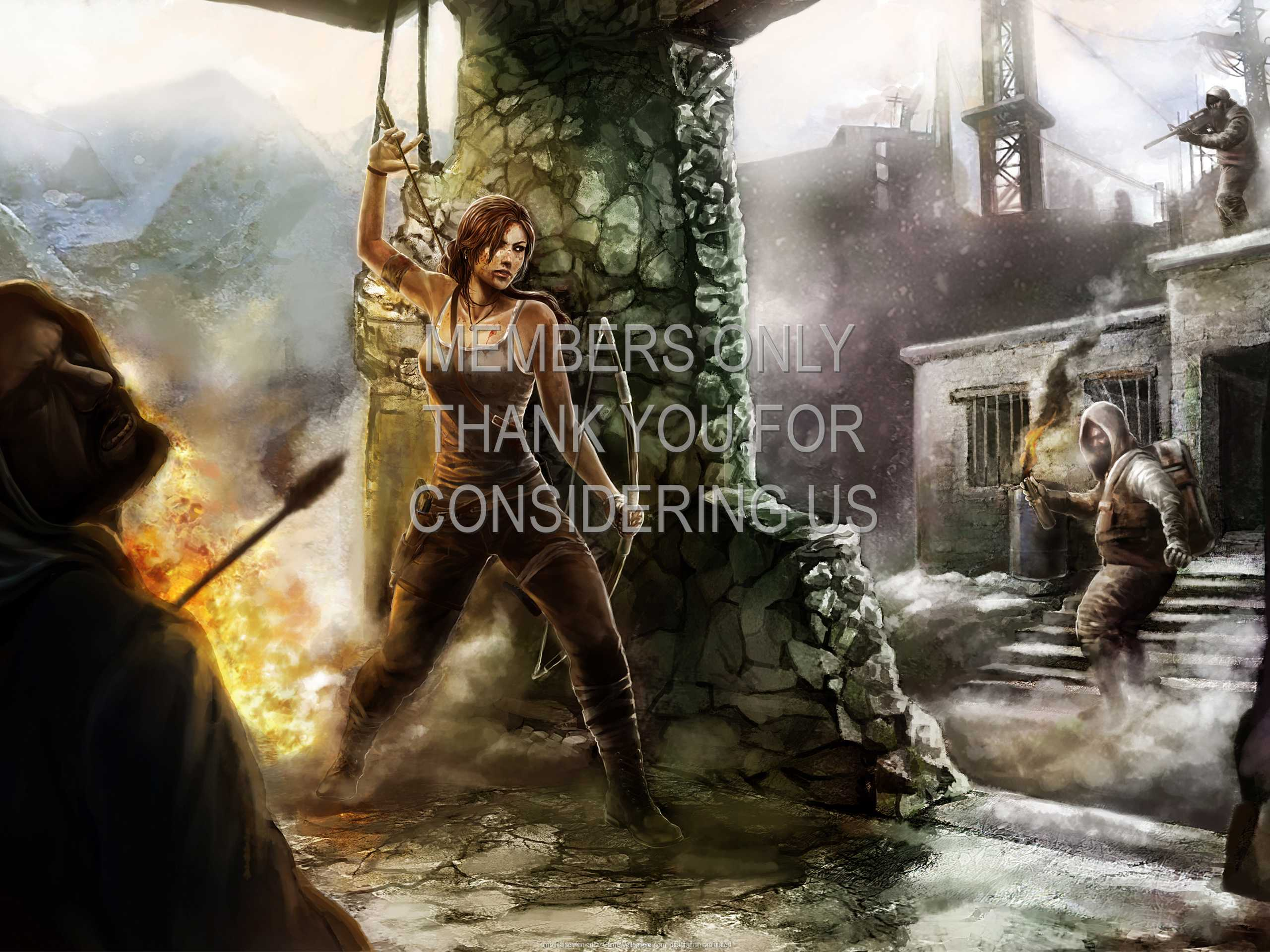 Tomb Raider fan art 1080p Horizontal Handy Hintergrundbild 02