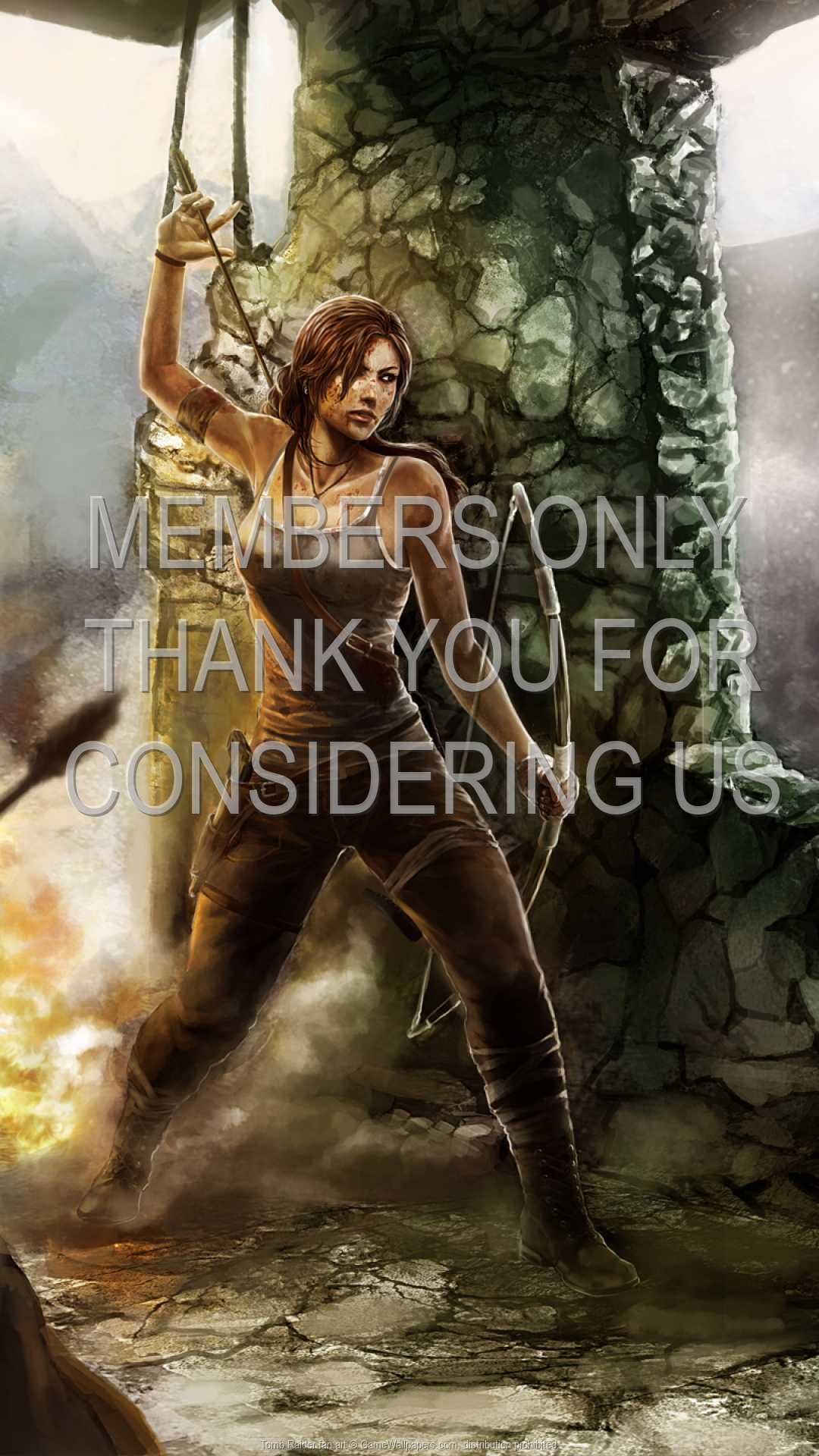Tomb Raider fan art 1080p Vertical Handy Hintergrundbild 02
