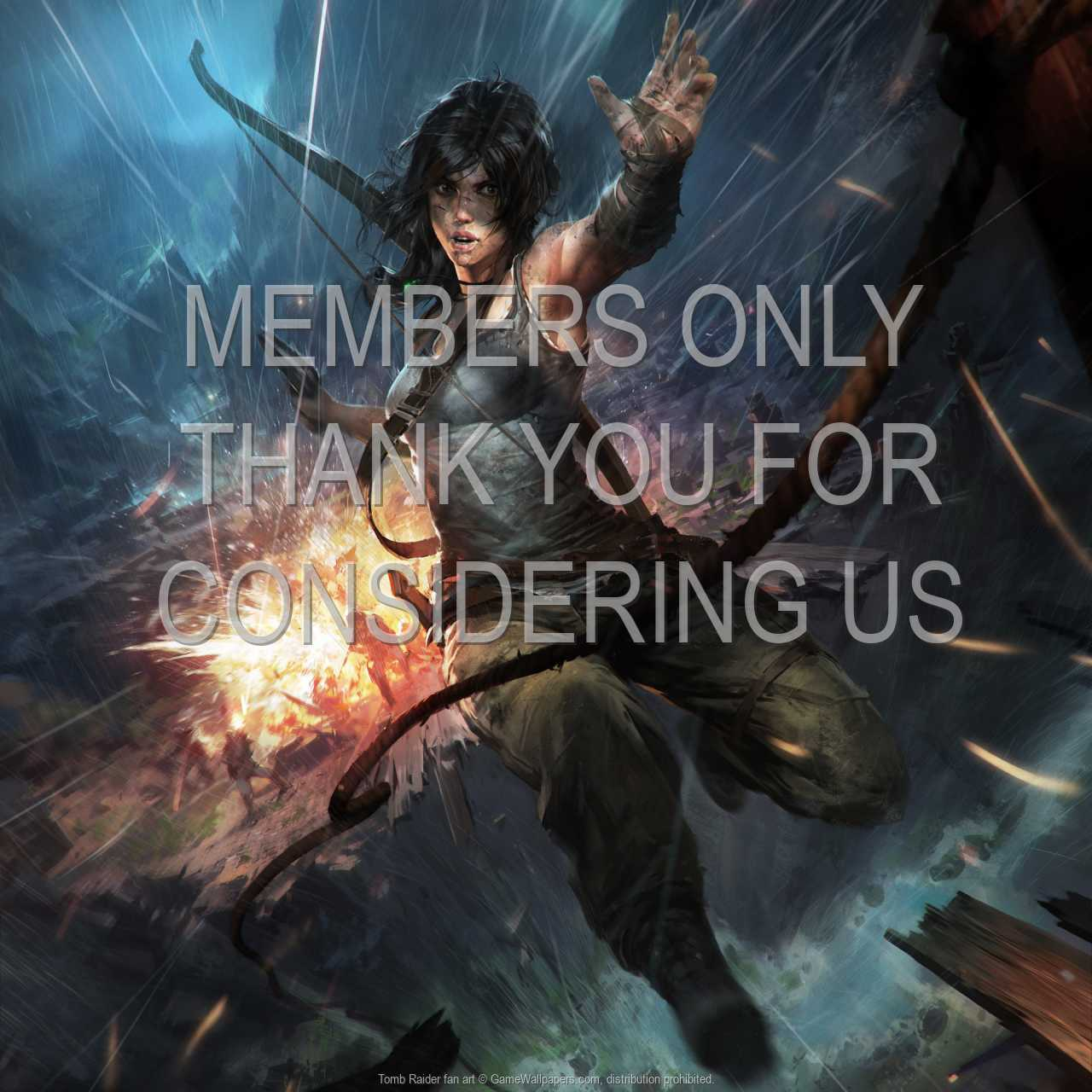 Tomb Raider fan art 720p Horizontal Handy Hintergrundbild 04