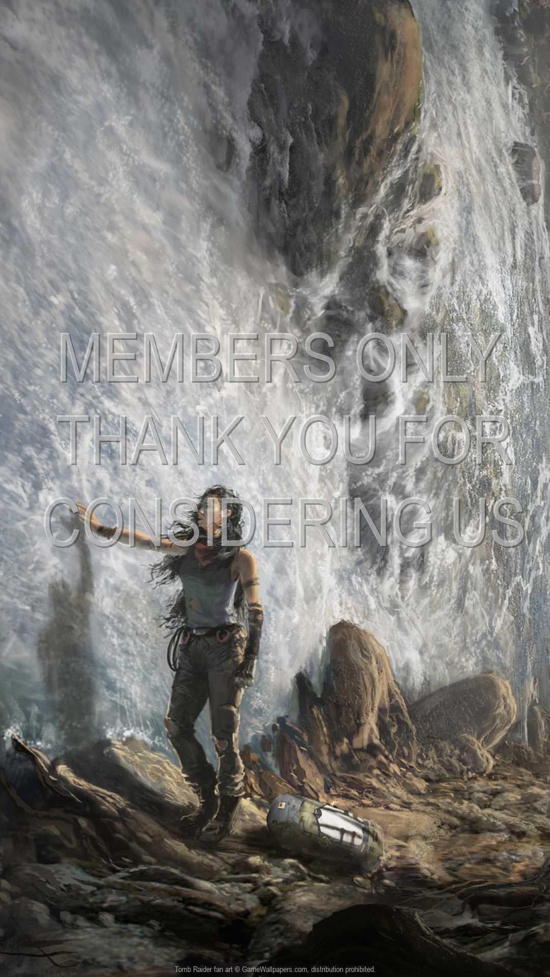 Tomb Raider fan art 1080p Vertical Mobiele achtergrond 06