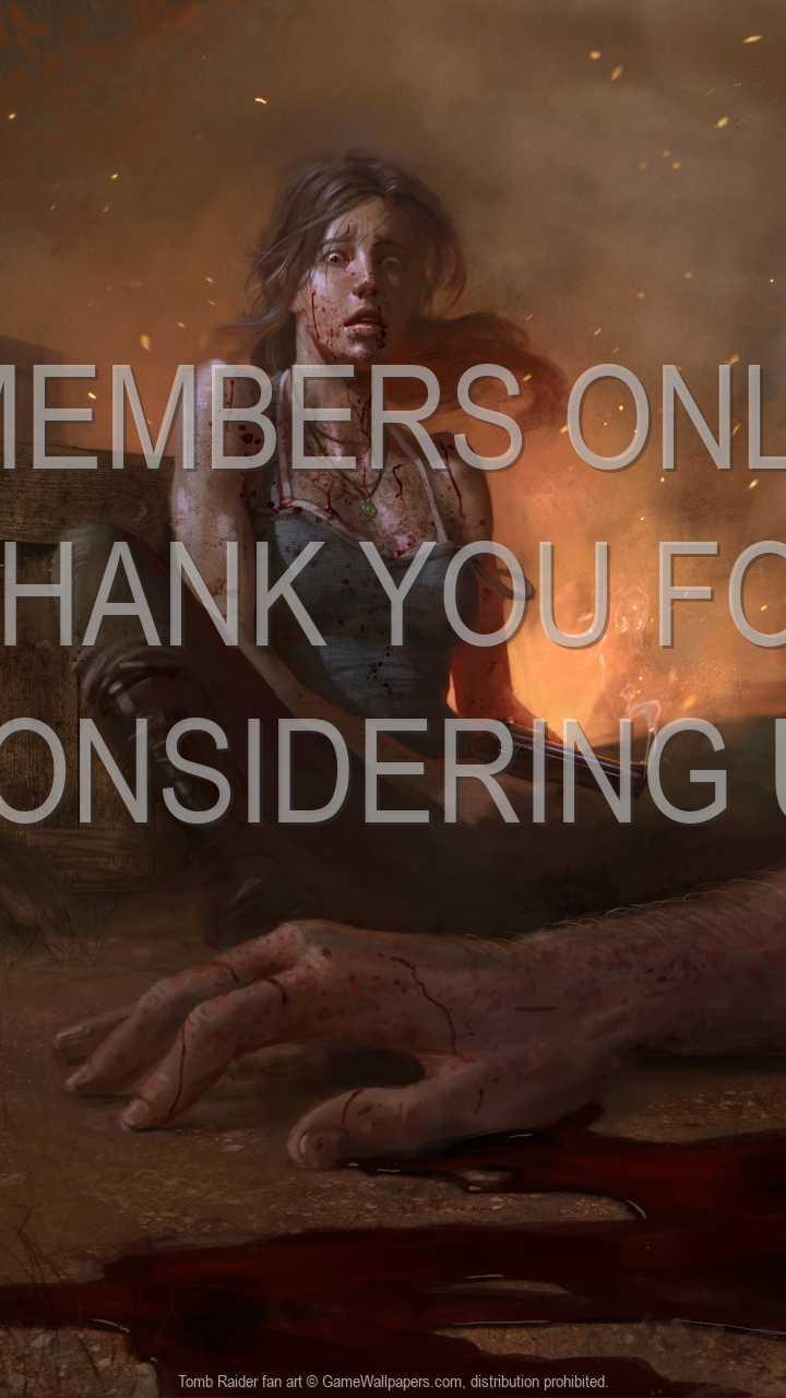 Tomb Raider fan art 720p Vertical Handy Hintergrundbild 07