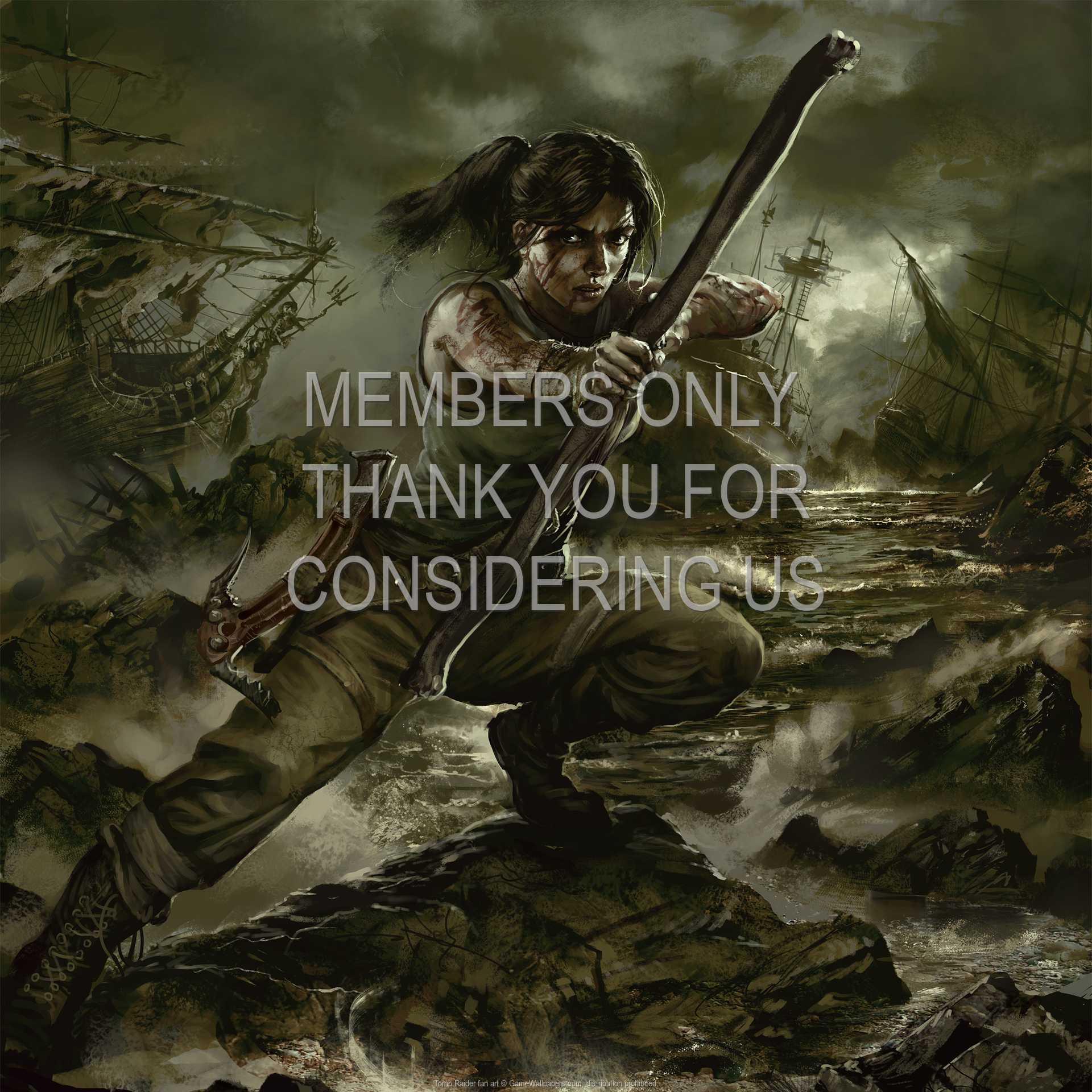 Tomb Raider fan art 1080p Horizontal Handy Hintergrundbild 08
