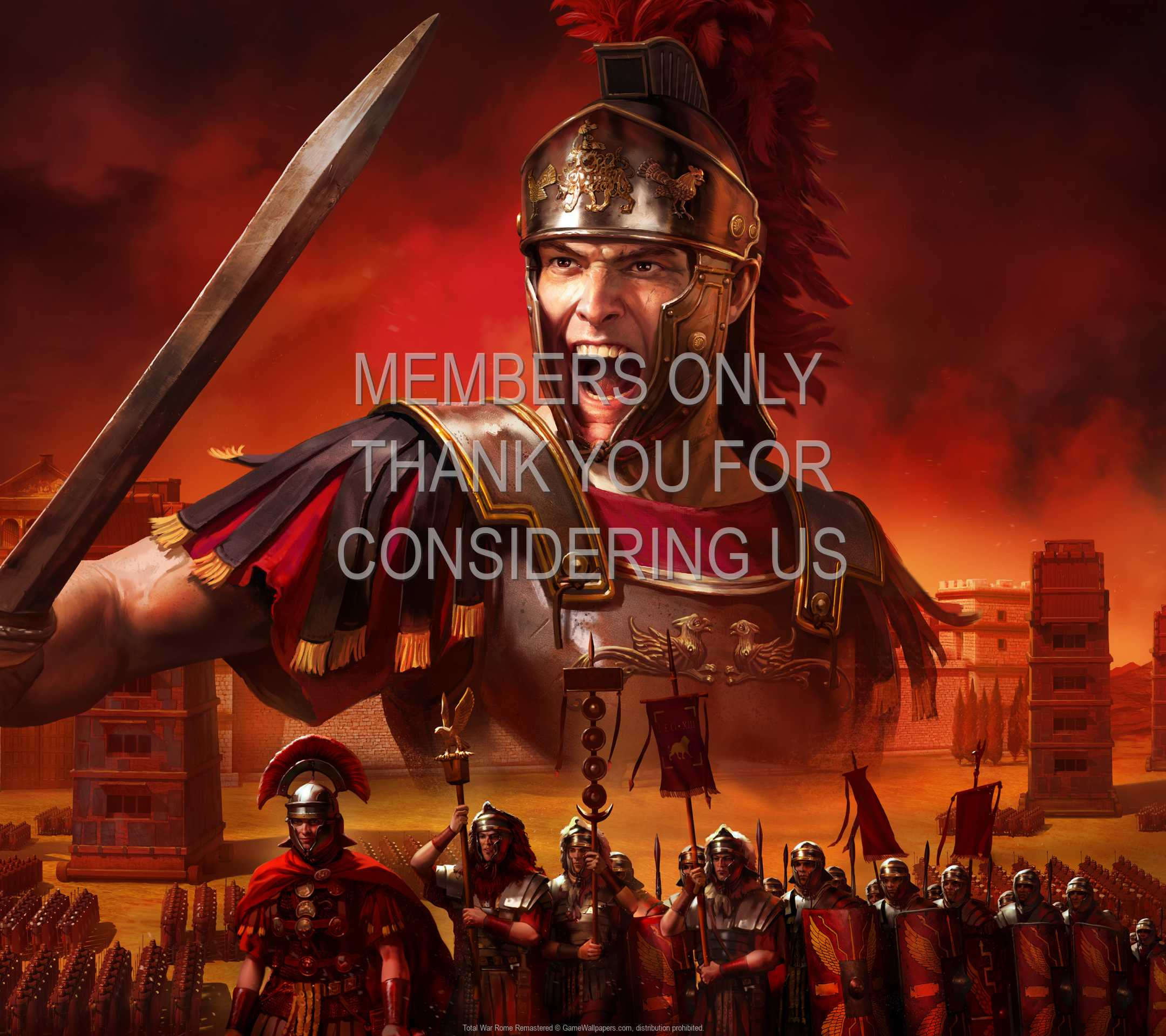 Total War: Rome Remastered 1080p Horizontal Handy Hintergrundbild 01