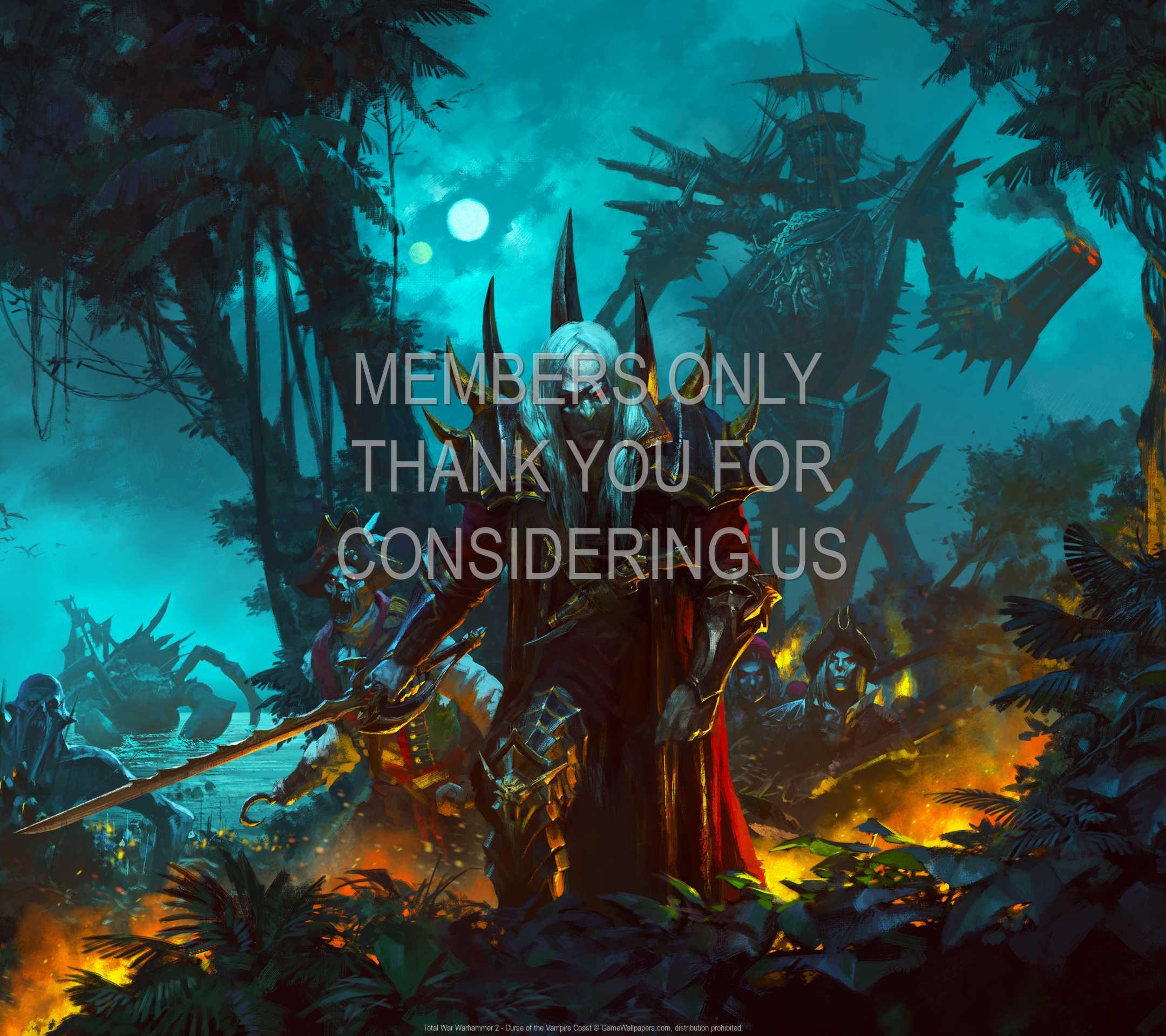 Total War: Warhammer 2 - Curse of the Vampire Coast 1080p Horizontal Mobiele achtergrond 01