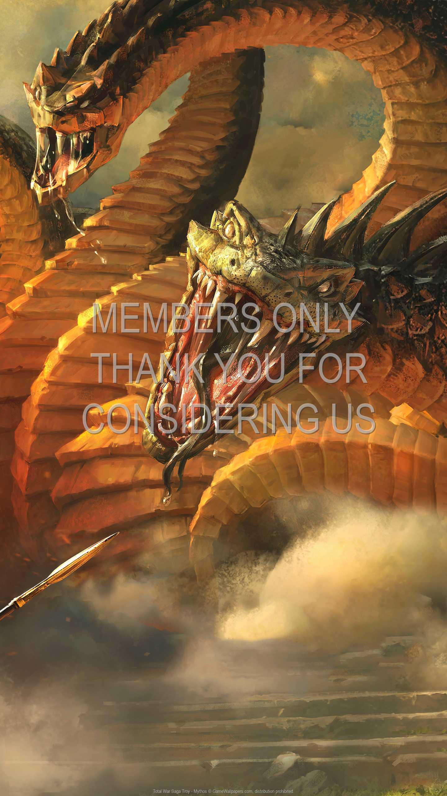 Total War Saga: Troy - Mythos 1440p Vertical Mobile wallpaper or background 01