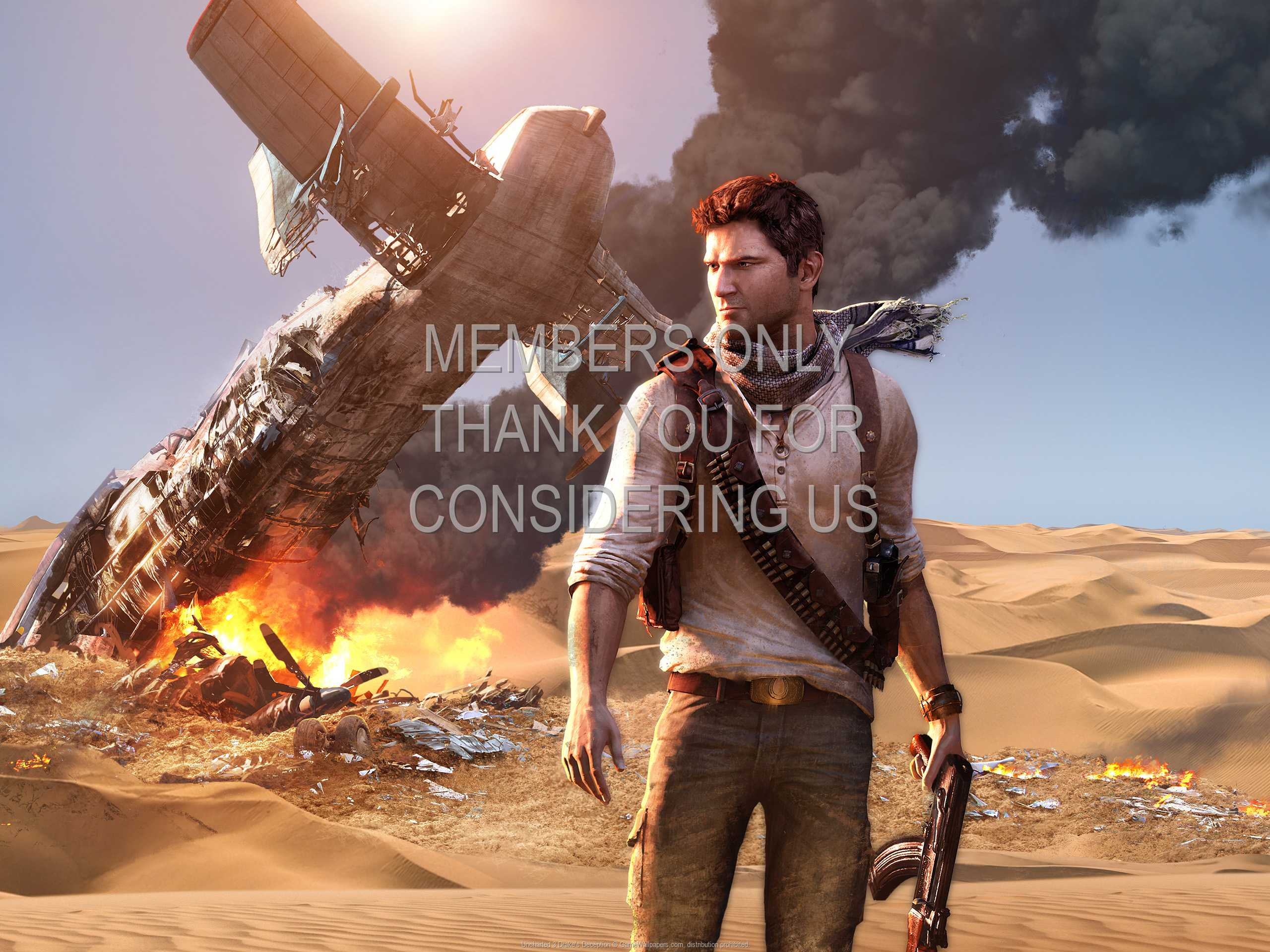 Uncharted 3 Drake S Deception Wallpaper 01 1080p Horizontal