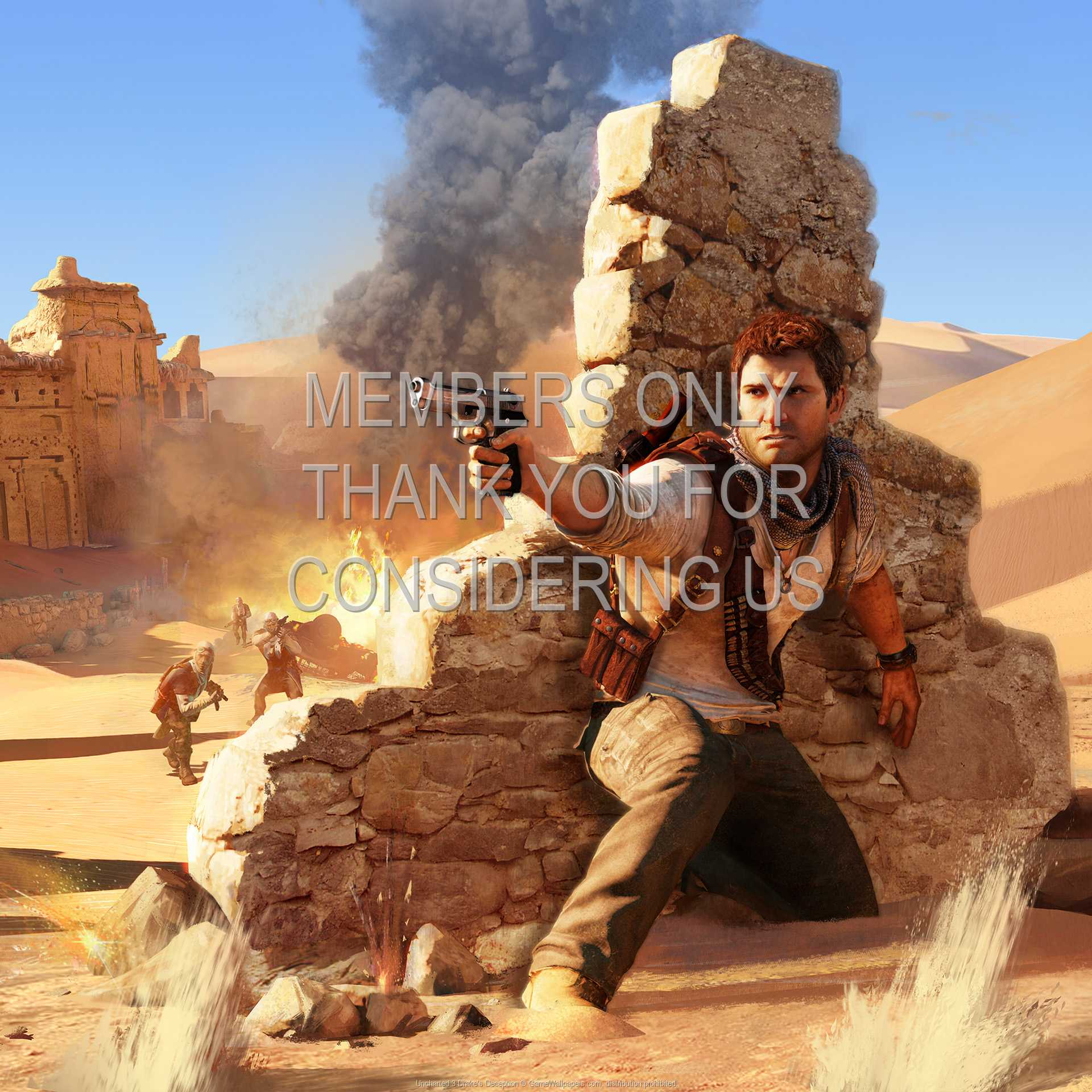 Uncharted 3 Drake S Deception Wallpaper 02 1080p Horizontal