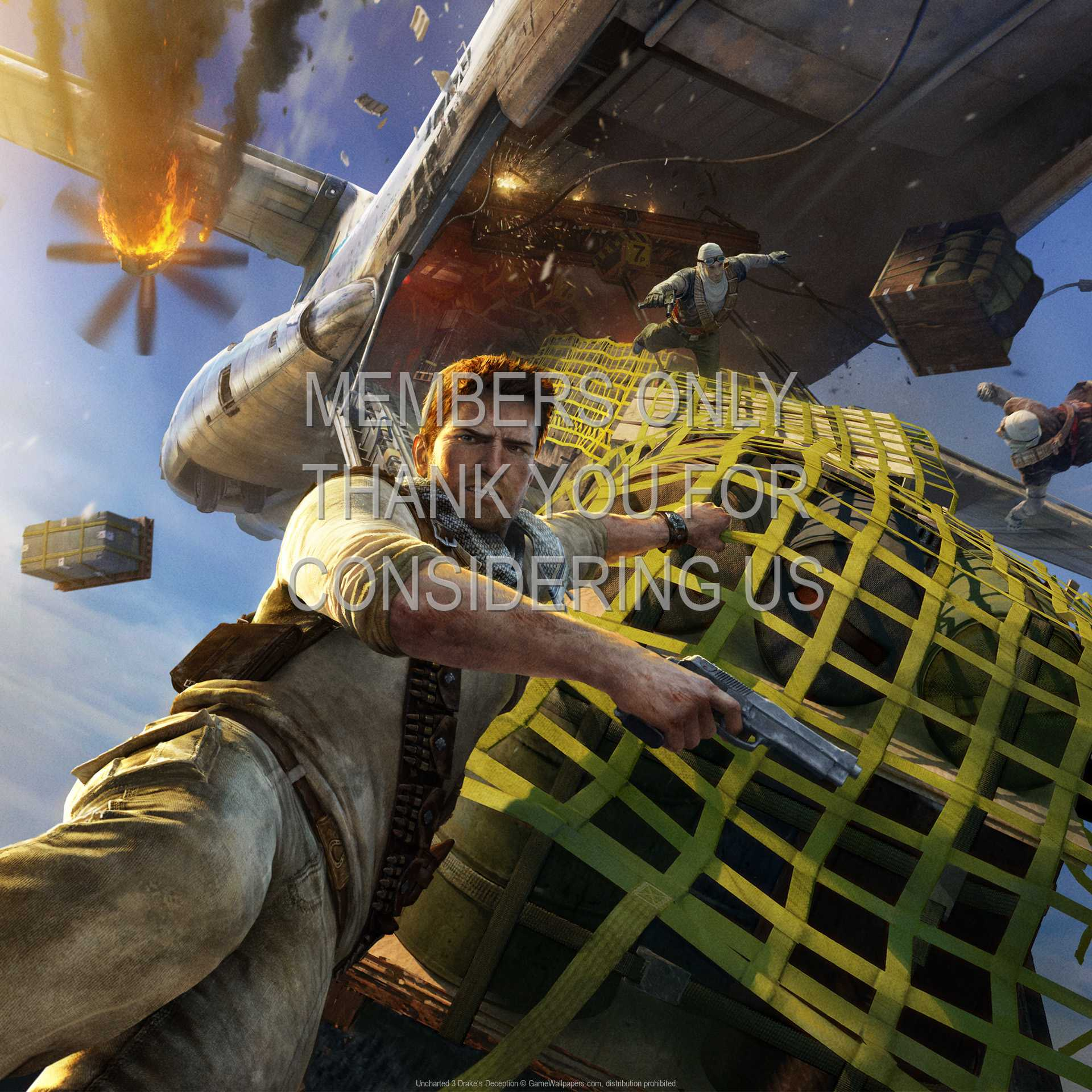 Uncharted 3: Drake's Deception 1080p Horizontal Mobile wallpaper or background 06