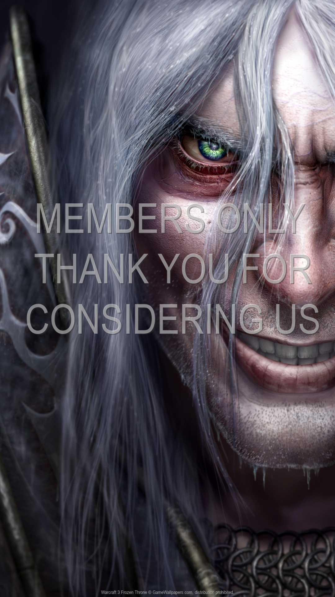 Warcraft 3: Frozen Throne 1080p Vertical Handy Hintergrundbild 03