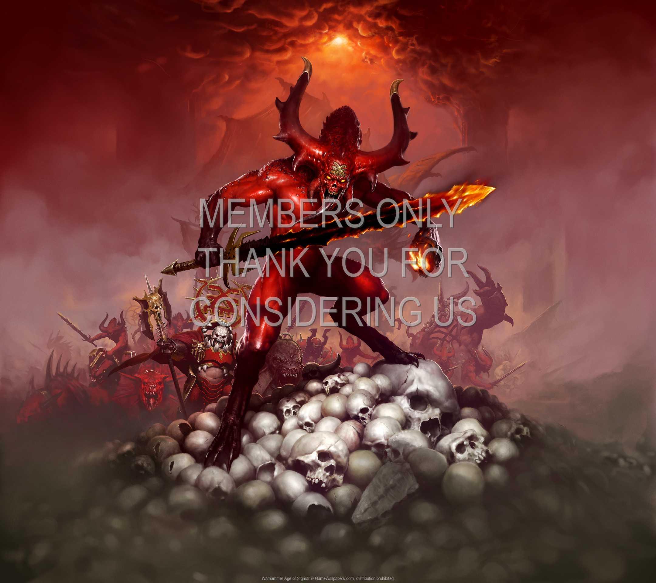 Warhammer: Age of Sigmar 1080p Horizontal Handy Hintergrundbild 02
