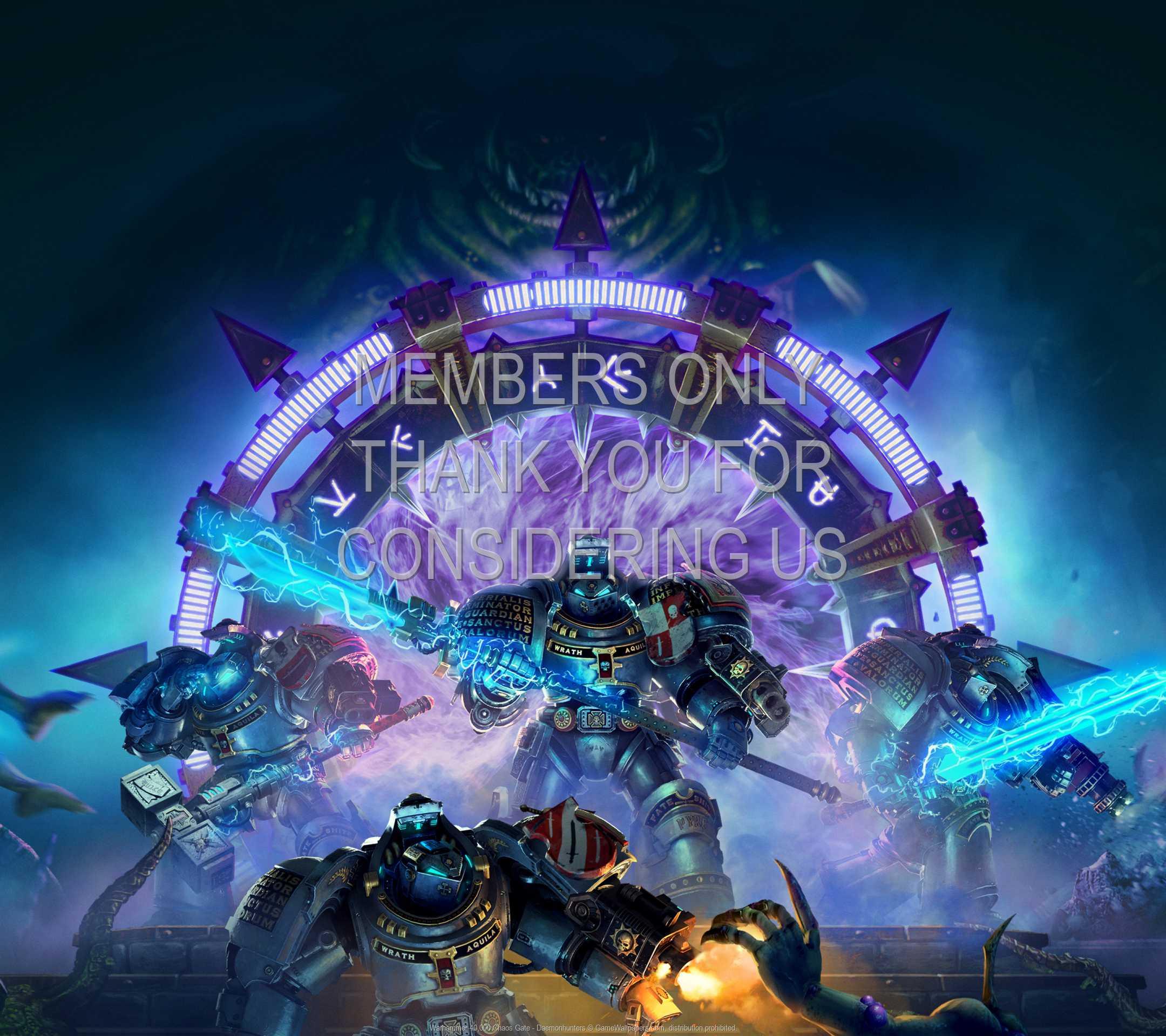 Warhammer 40,000: Chaos Gate - Daemonhunters 1080p Horizontal Móvil fondo de escritorio 01