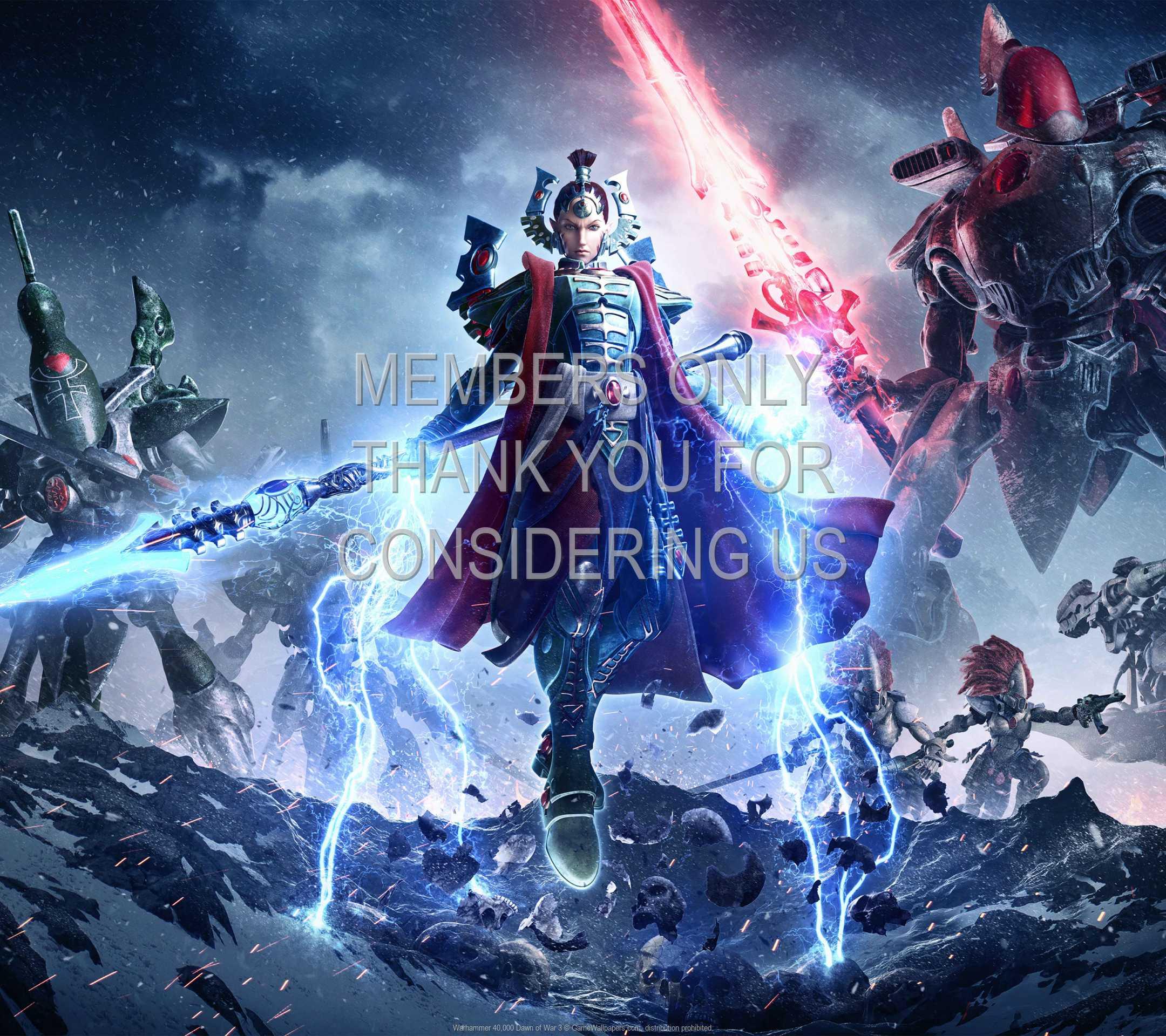 Warhammer 40,000: Dawn of War 3 1080p Horizontal Handy Hintergrundbild 03