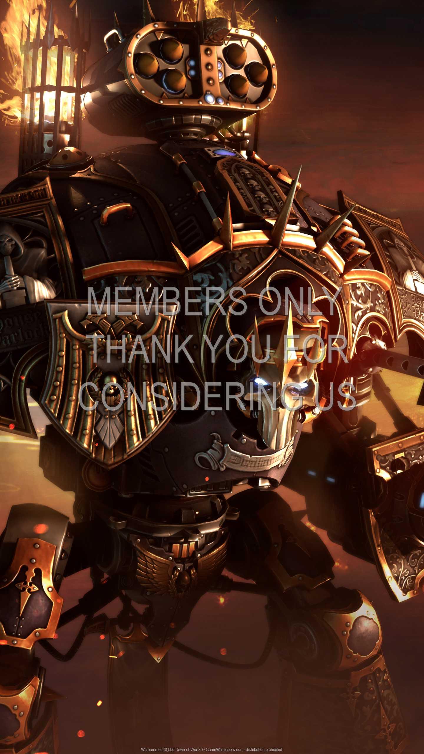 Warhammer 40,000: Dawn of War 3 1440p Vertical Handy Hintergrundbild 09