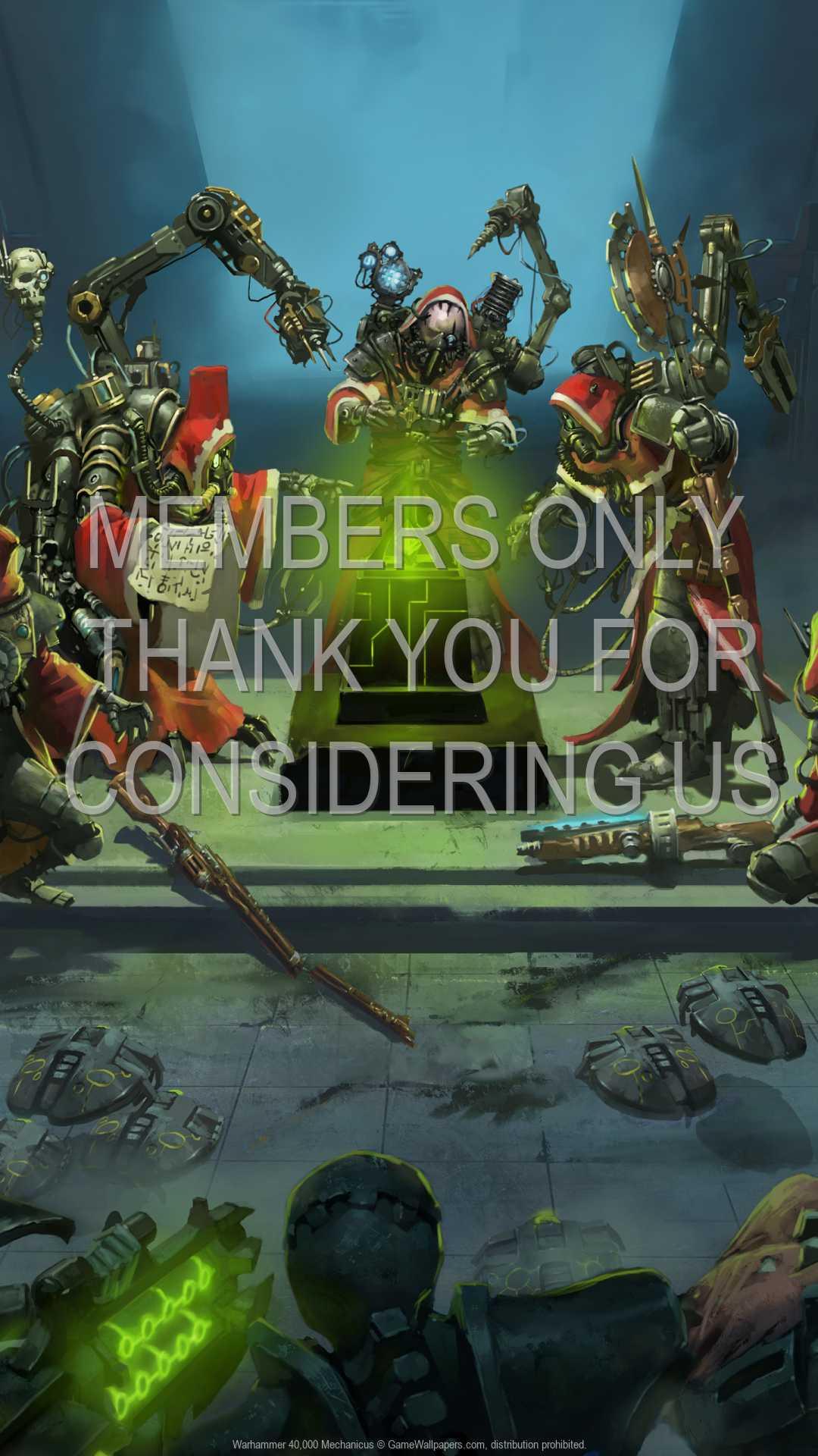 Warhammer 40,000: Mechanicus 1080p Vertical Handy Hintergrundbild 01