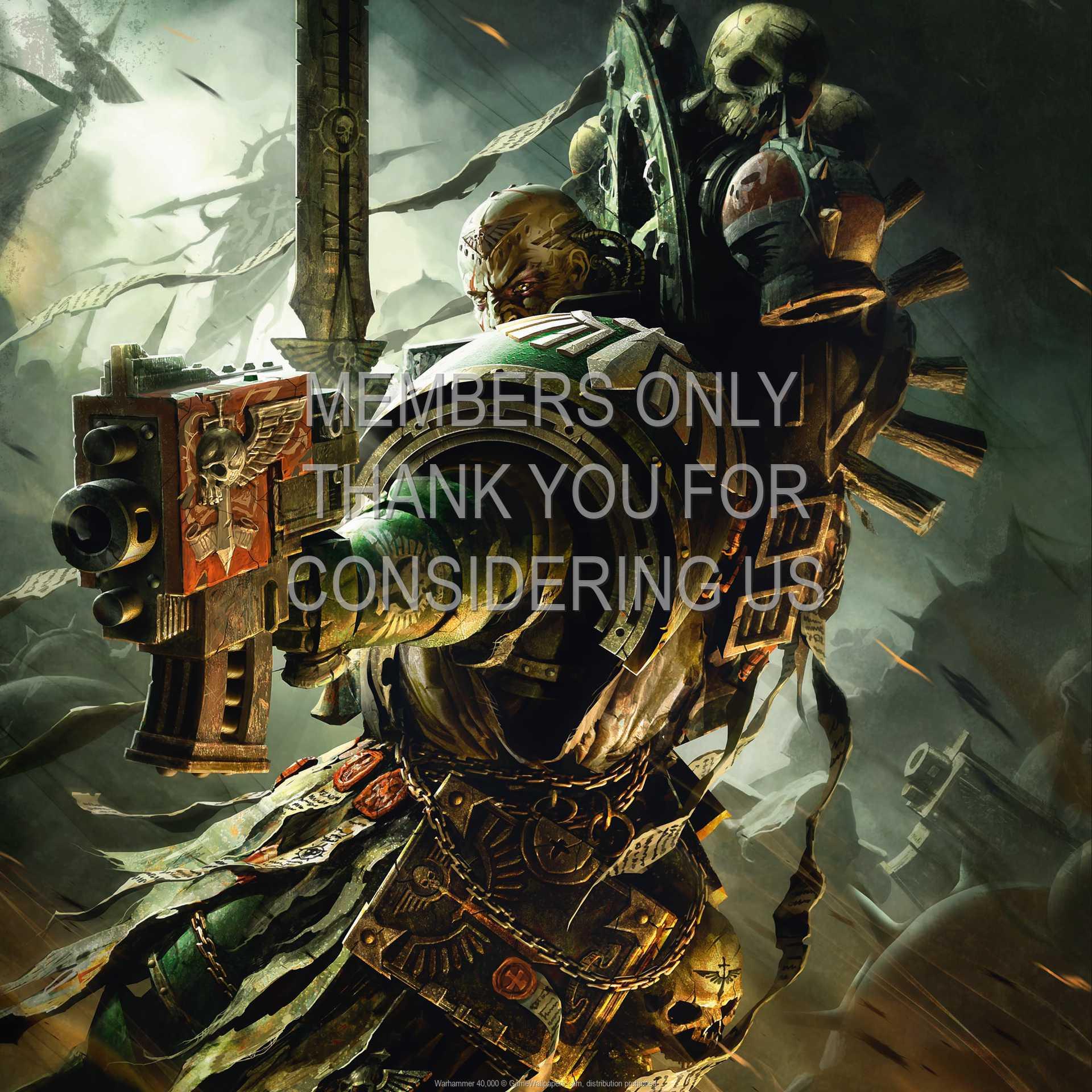 Warhammer 40,000 1080p Horizontal Mobiele achtergrond 02