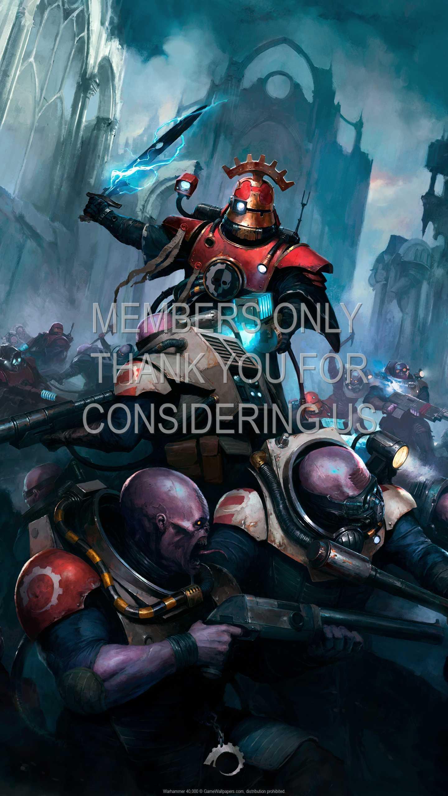 Warhammer 40,000 1440p Vertical Mobiele achtergrond 04