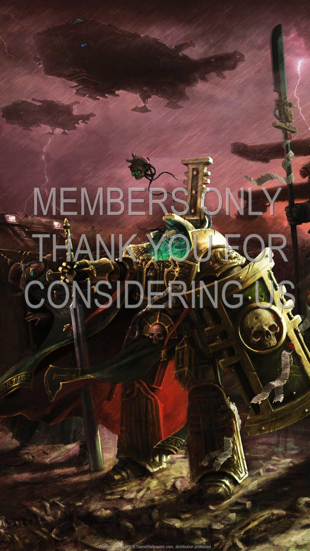 Warhammer 40,000 1080p Vertical Mobiele achtergrond 05