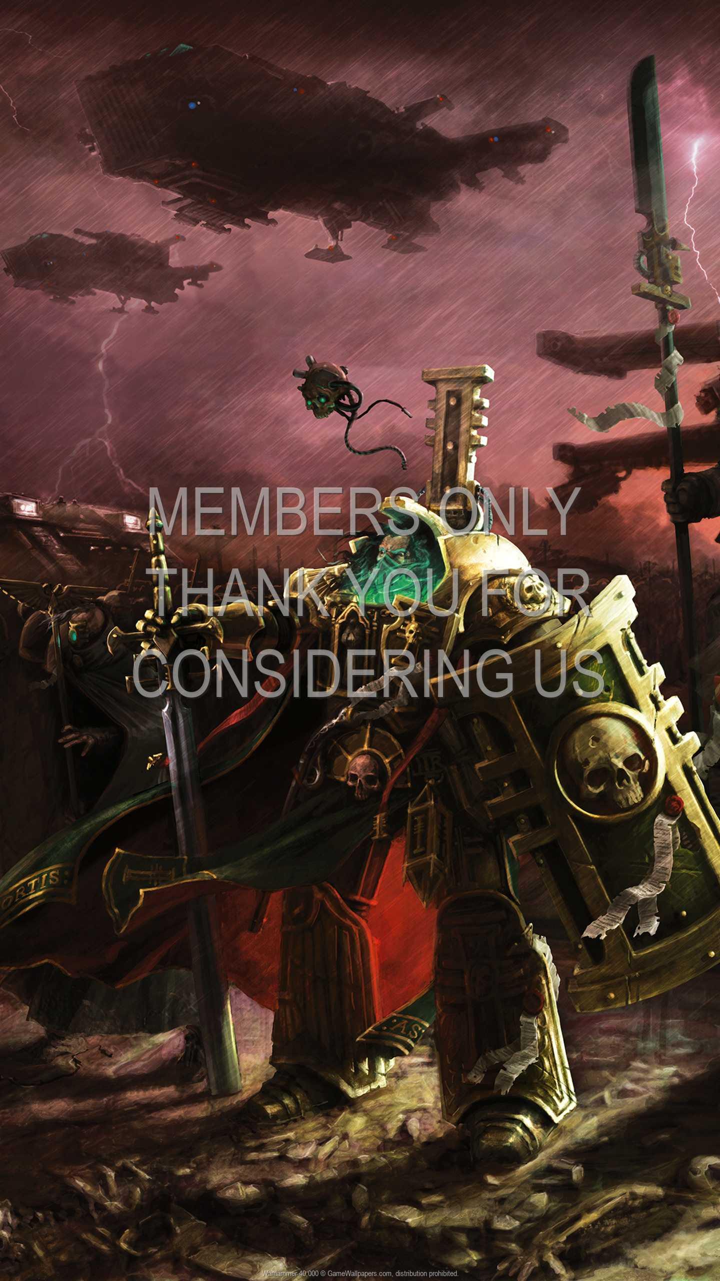 Warhammer 40,000 1440p Vertical Handy Hintergrundbild 05