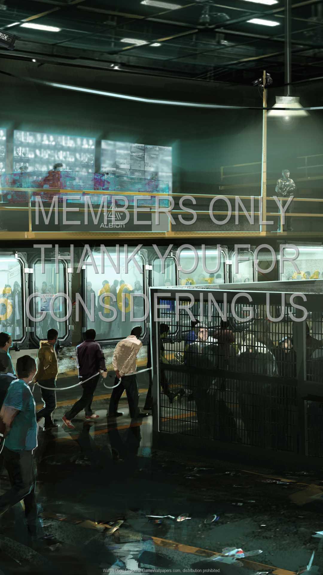 Watch Dogs: Legion 1080p Vertical Mobiele achtergrond 02