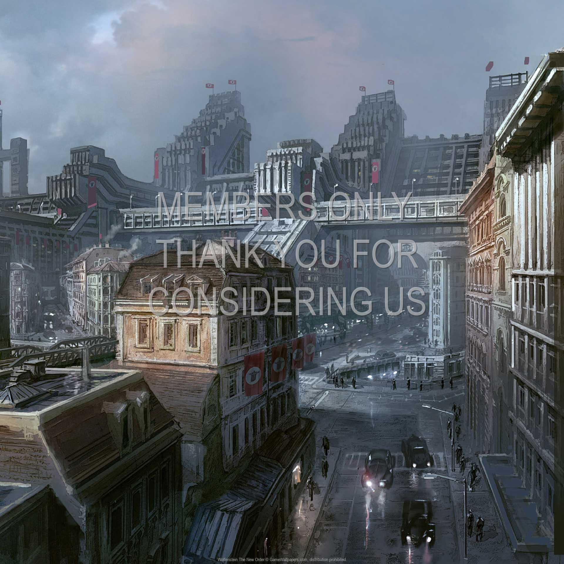 Wolfenstein: The New Order 1080p Horizontal Handy Hintergrundbild 01