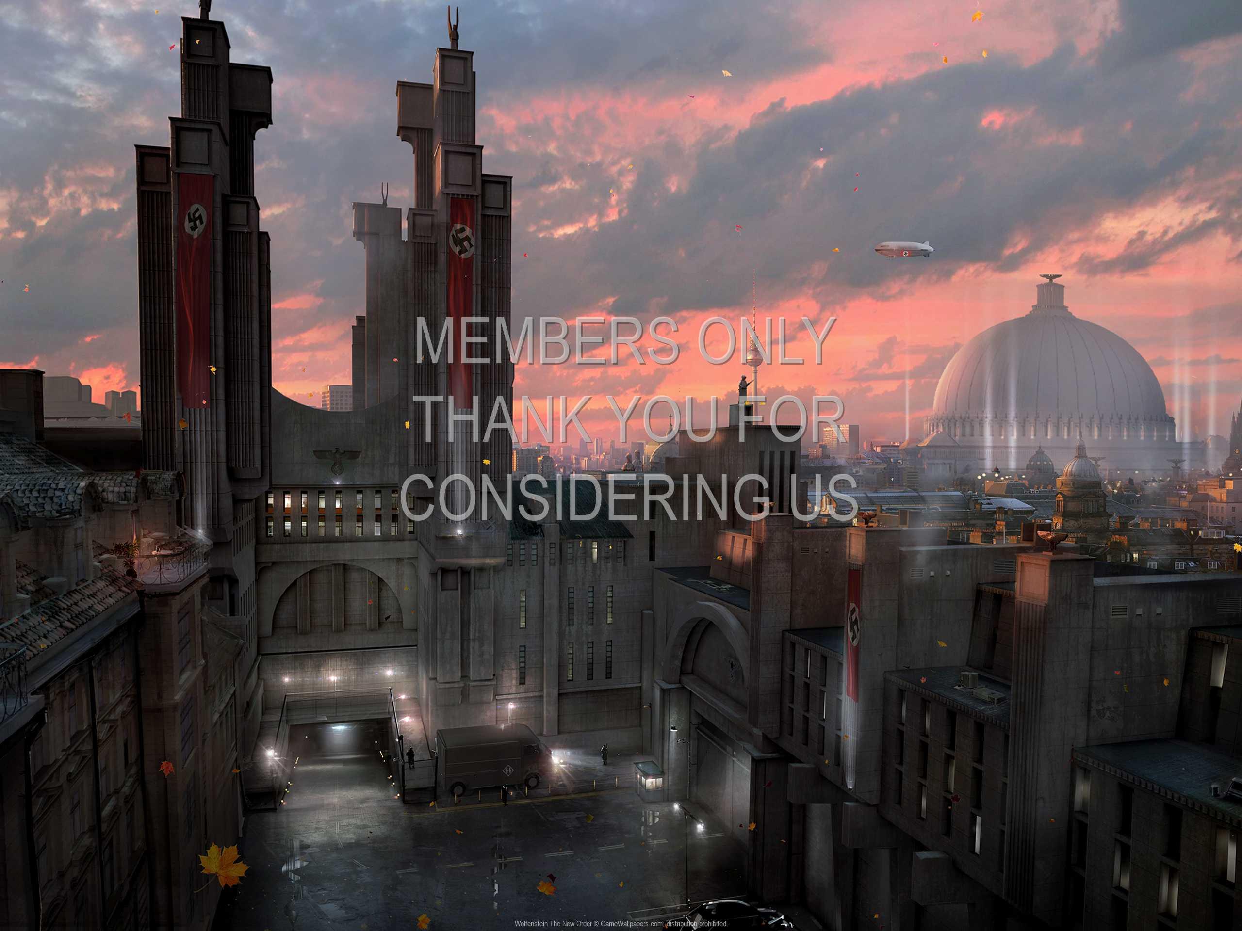 Wolfenstein: The New Order 1080p Horizontal Handy Hintergrundbild 03
