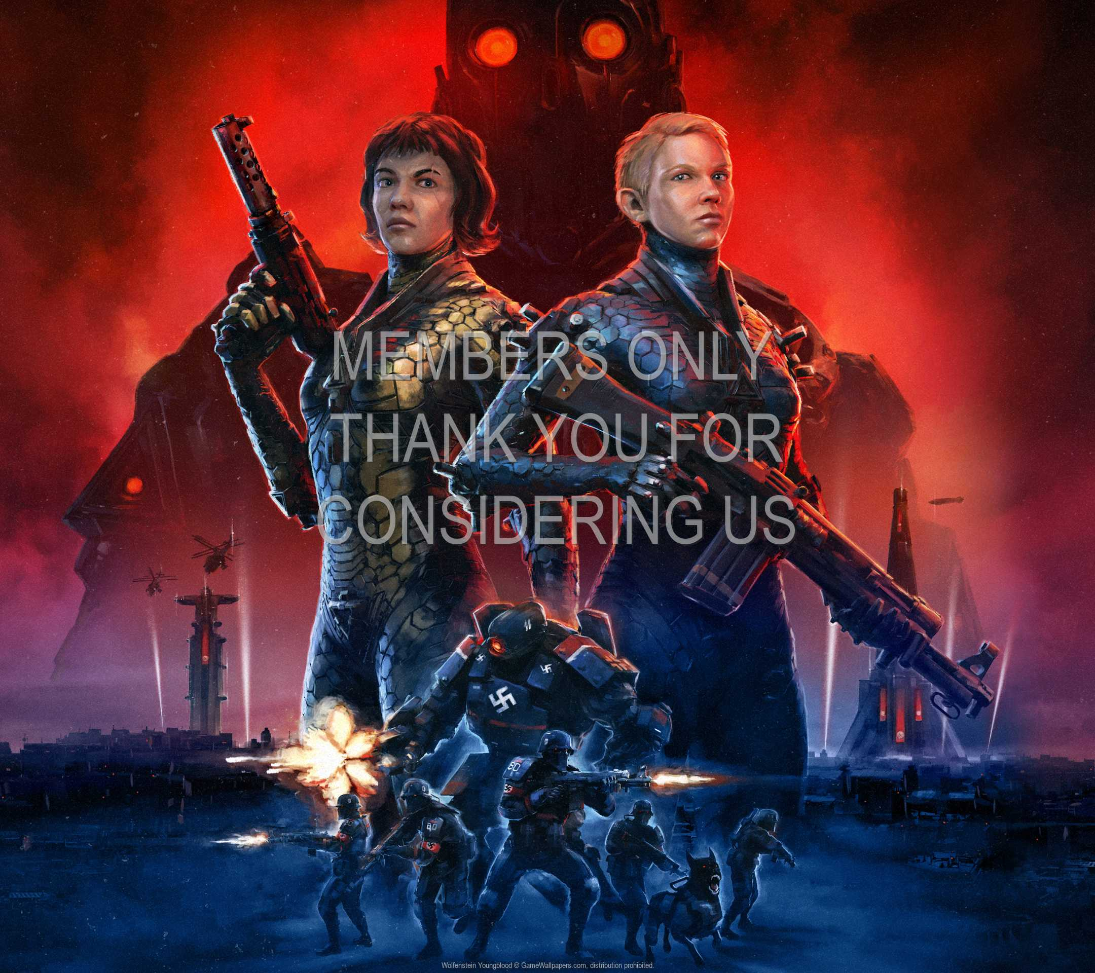 Wolfenstein: Youngblood 1080p Horizontal Mobile wallpaper or background 01