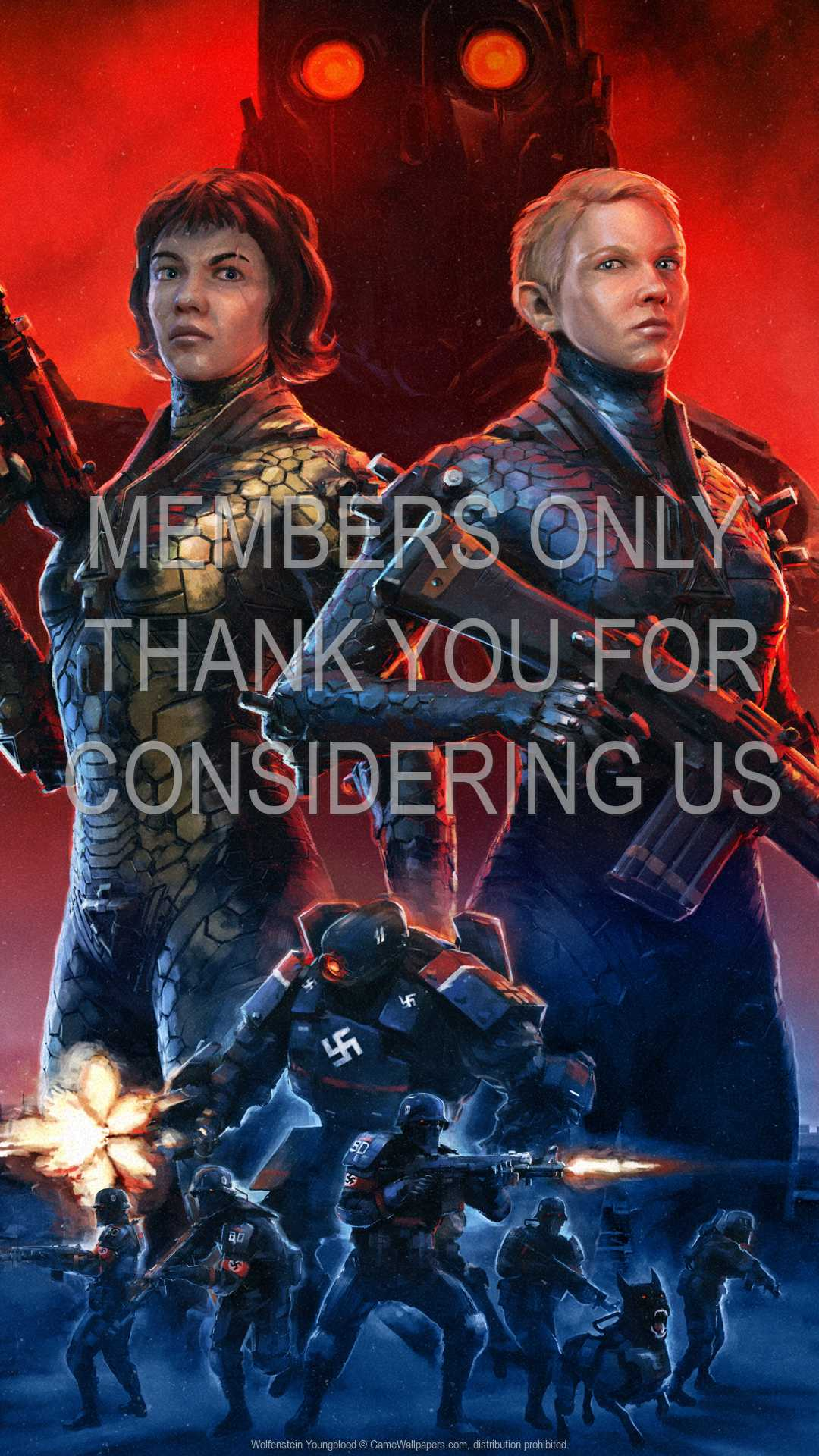 Wolfenstein: Youngblood 1080p Vertical Mobile wallpaper or background 01