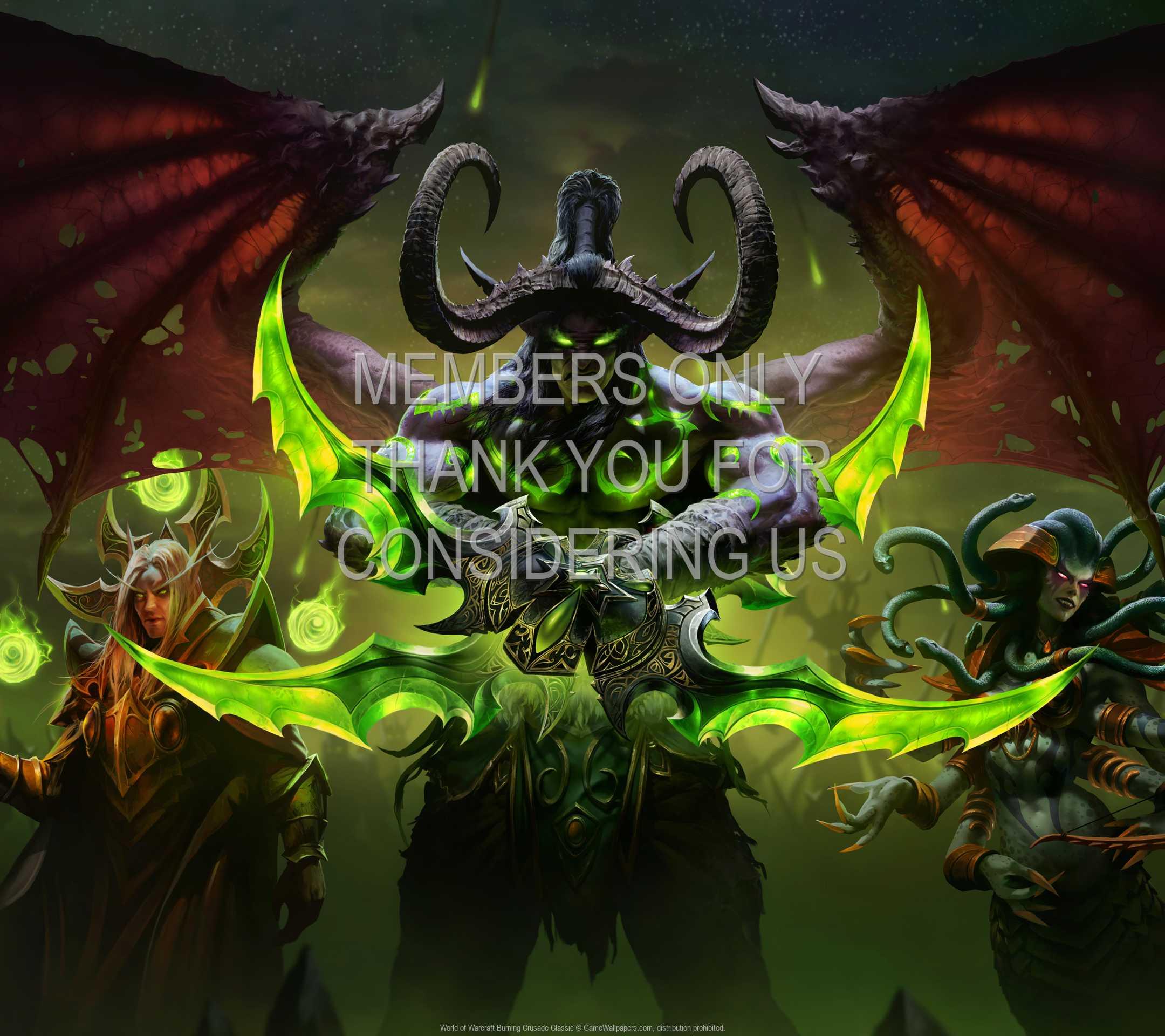 World of Warcraft: Burning Crusade Classic 1080p Horizontal Mobile wallpaper or background 01