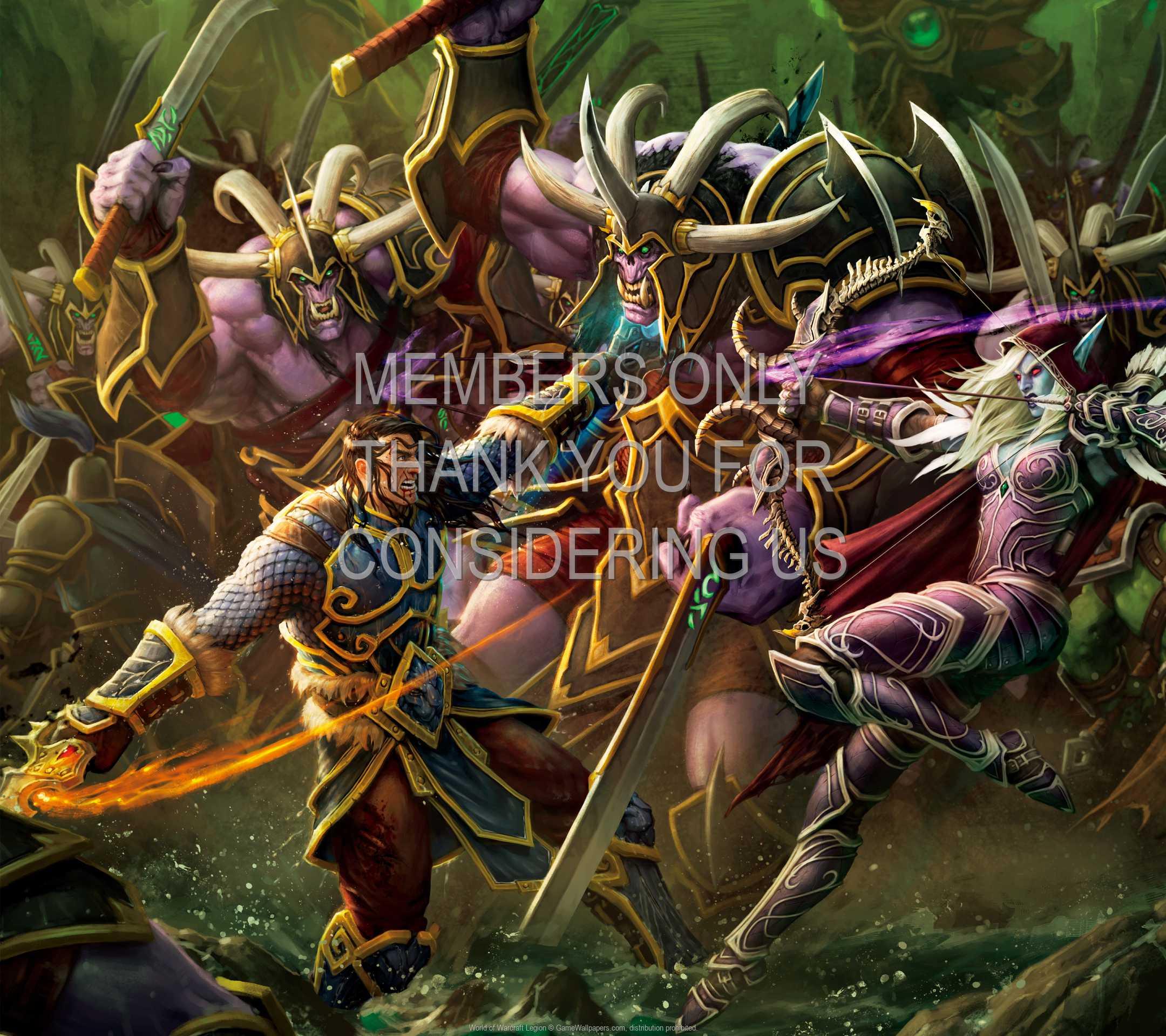World of Warcraft: Legion 1080p Horizontal Mobiele achtergrond 04