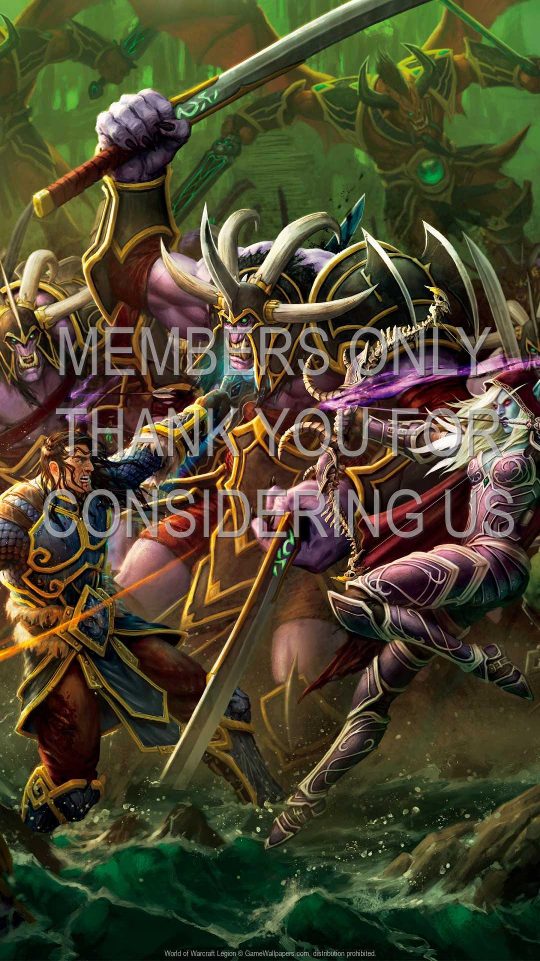 World of Warcraft: Legion 1080p Vertical Mobiele achtergrond 04