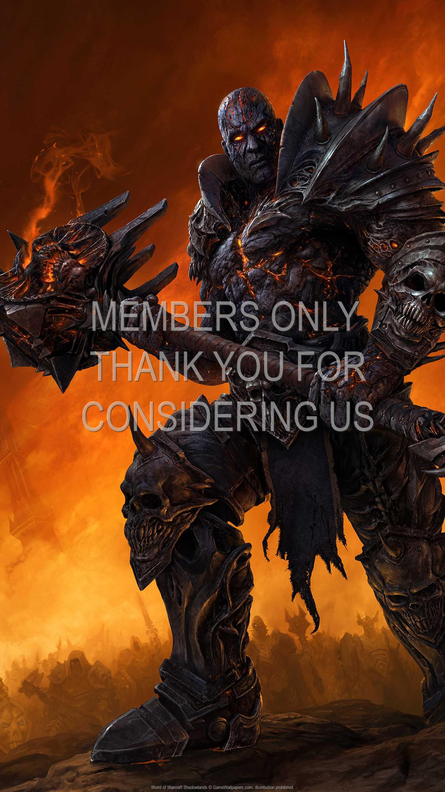 World of Warcraft: Shadowlands 1440p Vertical Móvil fondo de escritorio 01