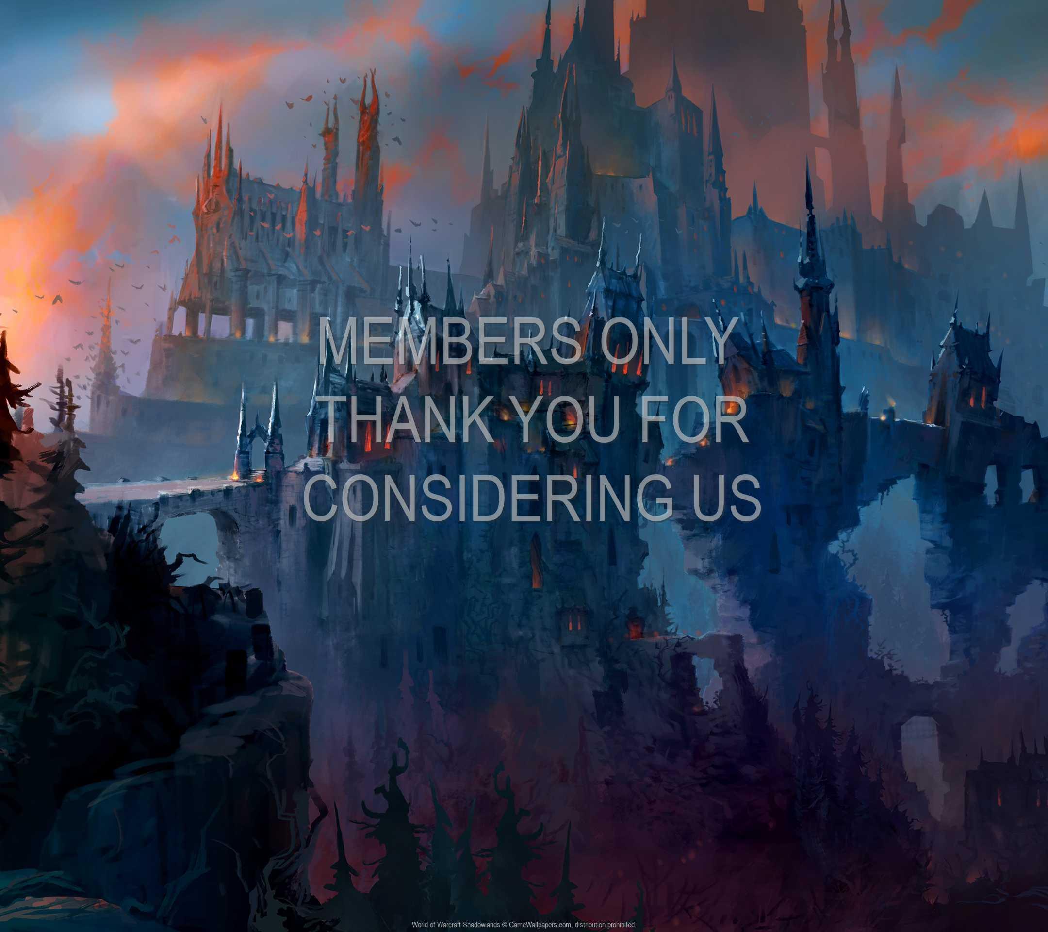 World of Warcraft: Shadowlands 1080p Horizontal Mobiele achtergrond 04