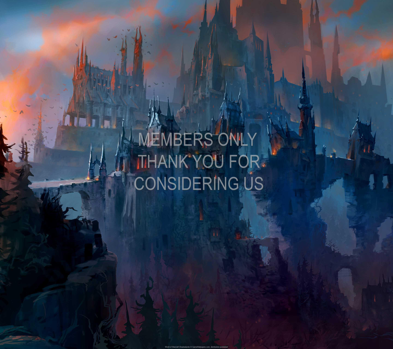 World of Warcraft: Shadowlands 1440p Horizontal Handy Hintergrundbild 04