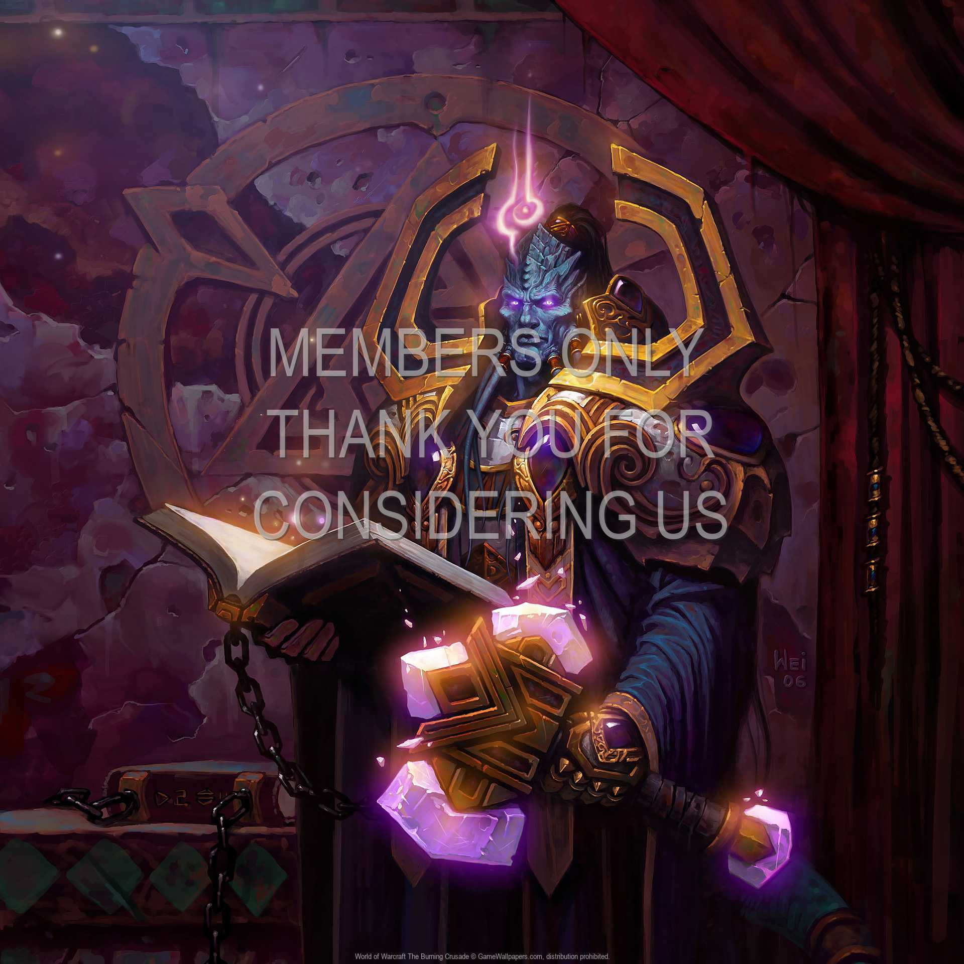 World of Warcraft: The Burning Crusade 1080p Horizontal Mobile wallpaper or background 07