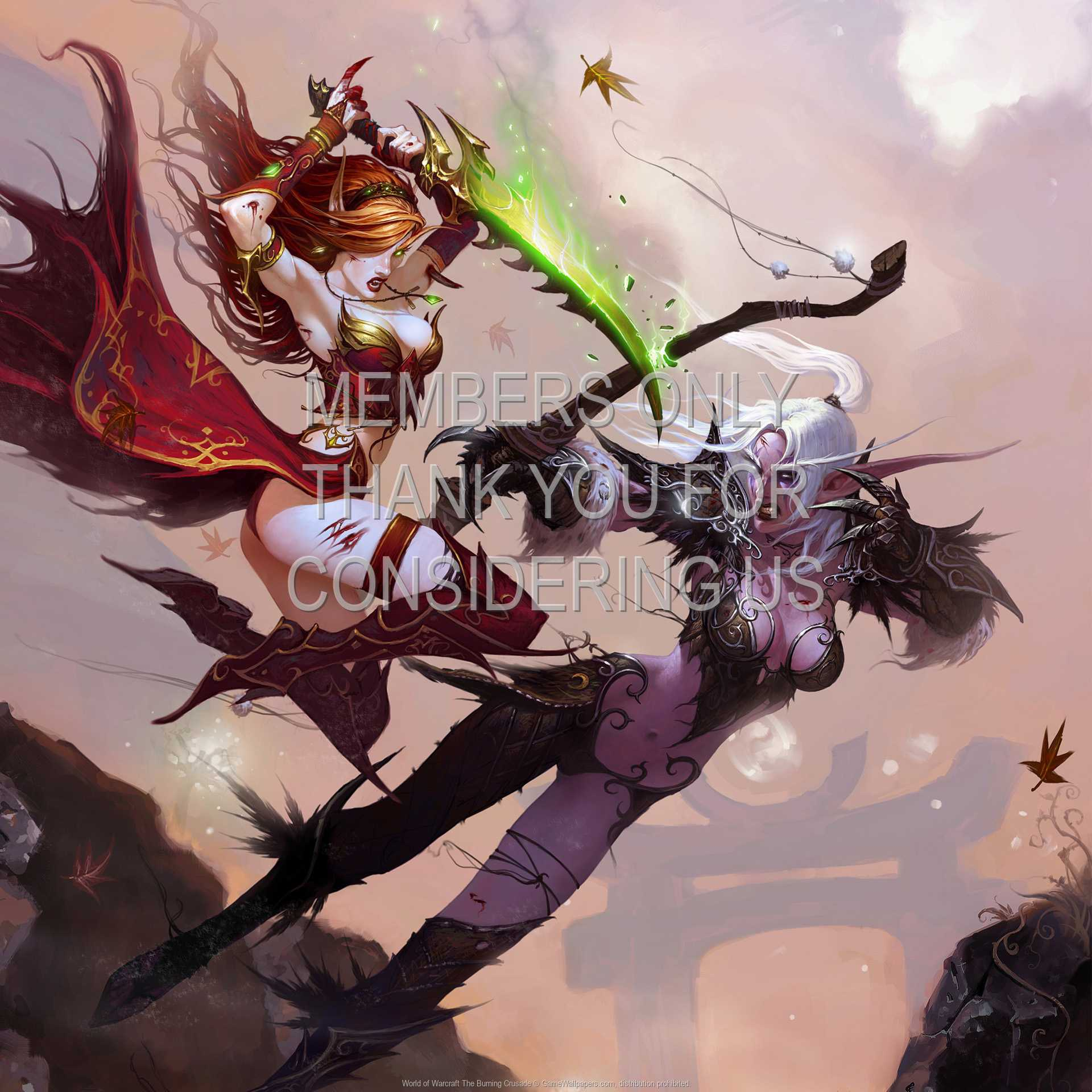 World of Warcraft: The Burning Crusade 1080p Horizontal Handy Hintergrundbild 08