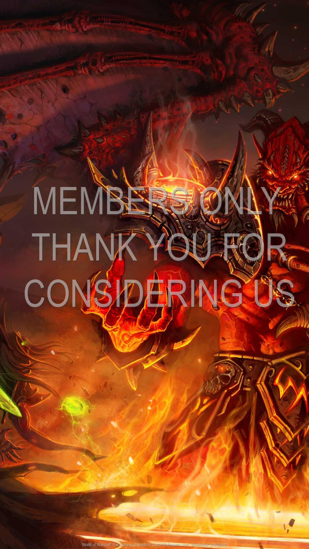 World of Warcraft: The Burning Crusade 1080p Vertical Handy Hintergrundbild 11