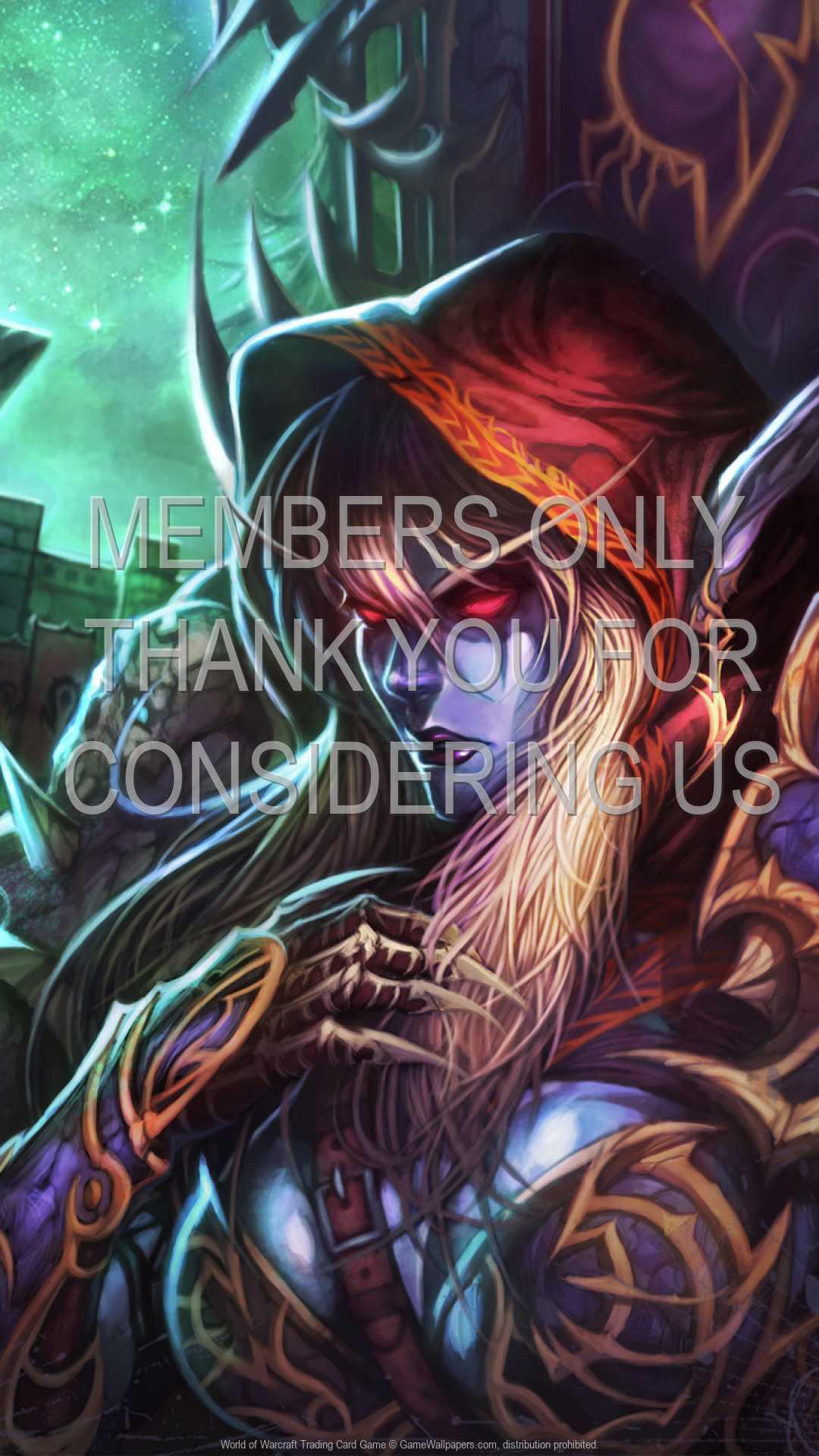 World of Warcraft: Trading Card Game 1080p Vertical Handy Hintergrundbild 51