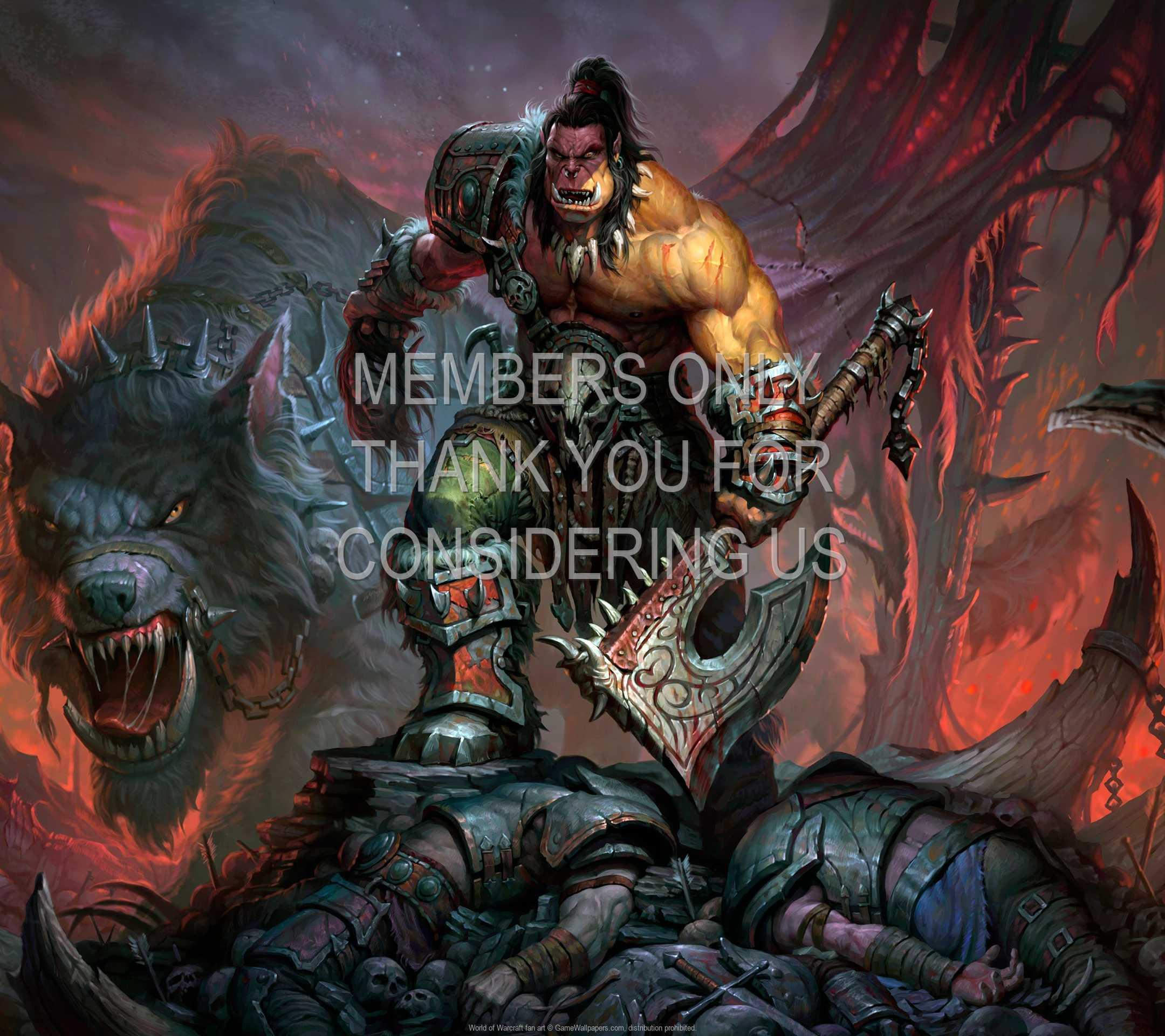 World of Warcraft fan art 1080p Horizontal Handy Hintergrundbild 01